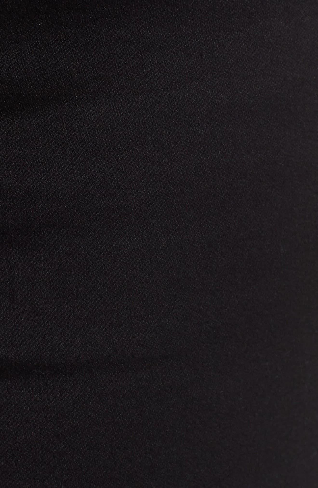 Butter Denim Shorts,                             Alternate thumbnail 6, color,                             001