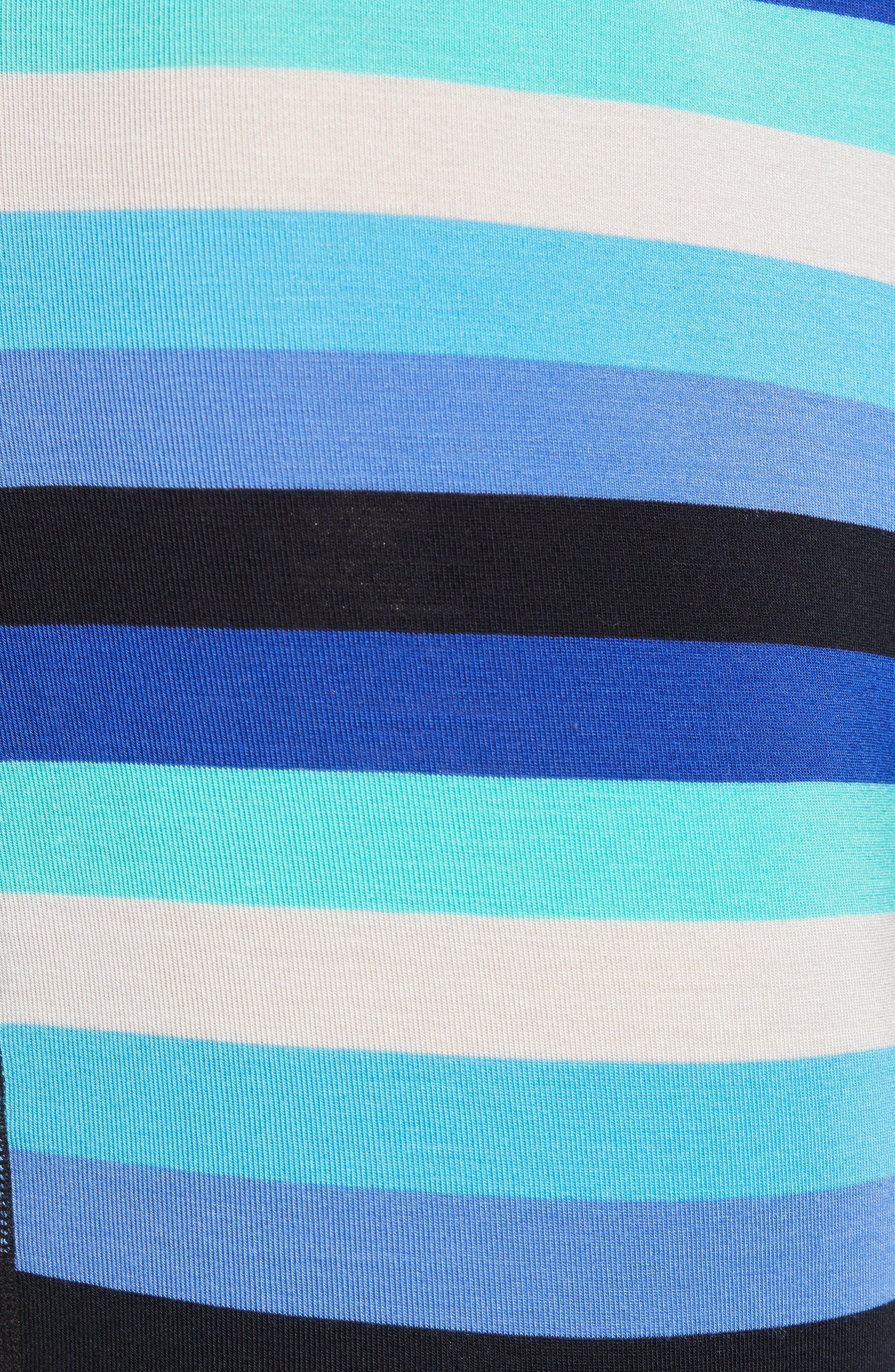 Ultra Cabana Stripe Stretch Boxer Briefs,                             Alternate thumbnail 5, color,                             BLUE CABANA STRIPE