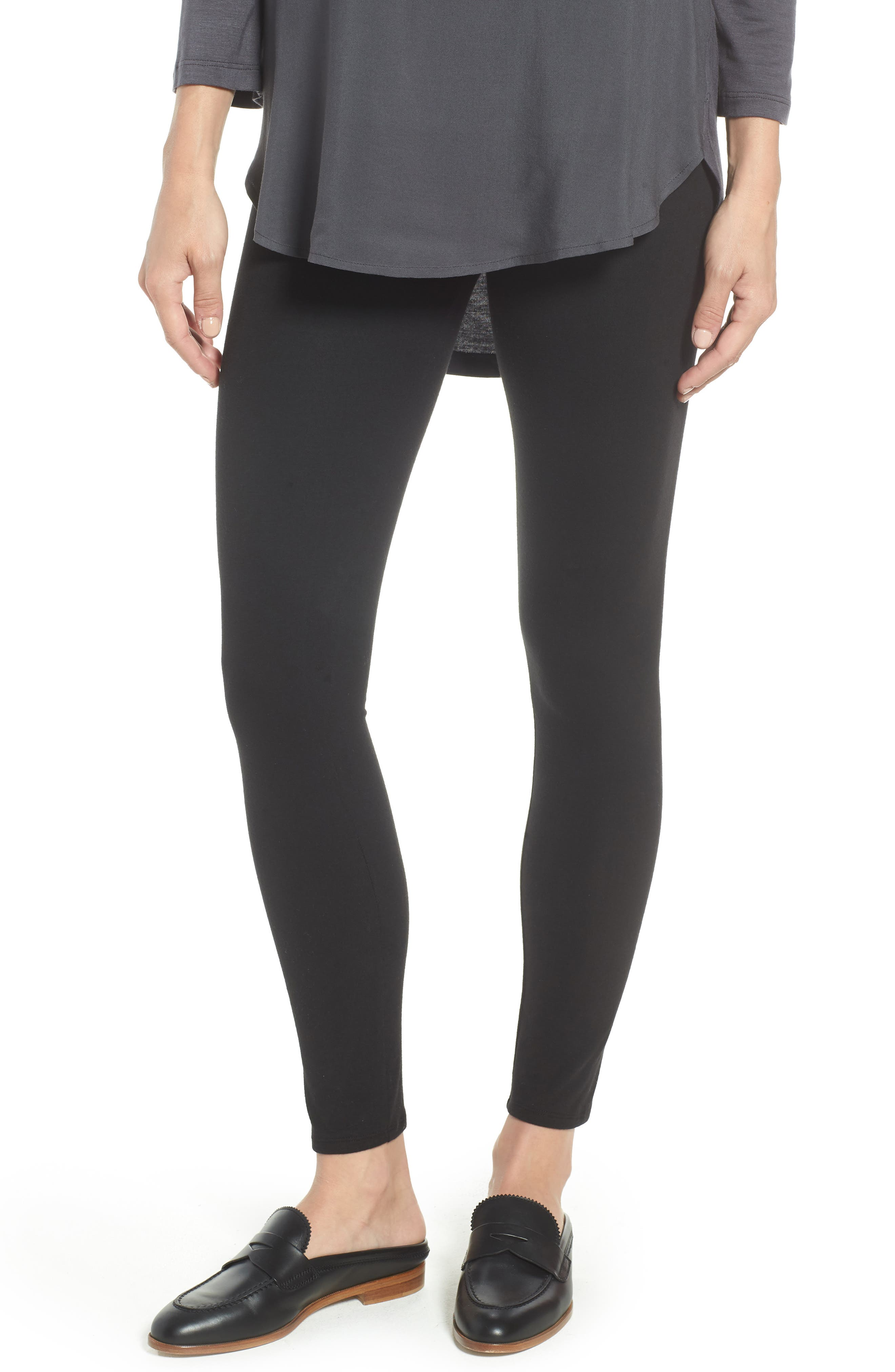 Go-To High Waist Leggings,                             Main thumbnail 1, color,                             BLACK