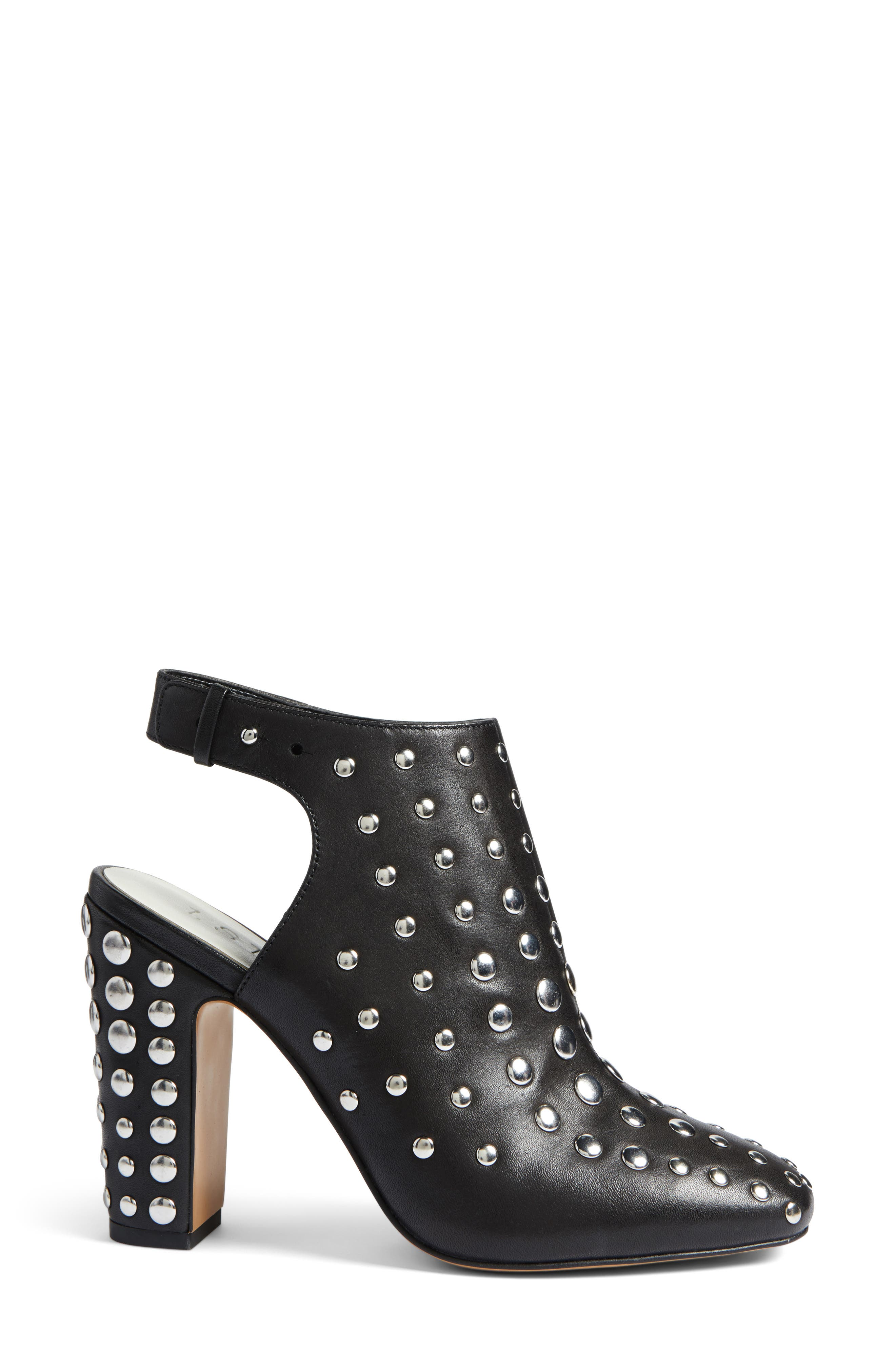 Ryel Studded Bootie,                             Alternate thumbnail 3, color,