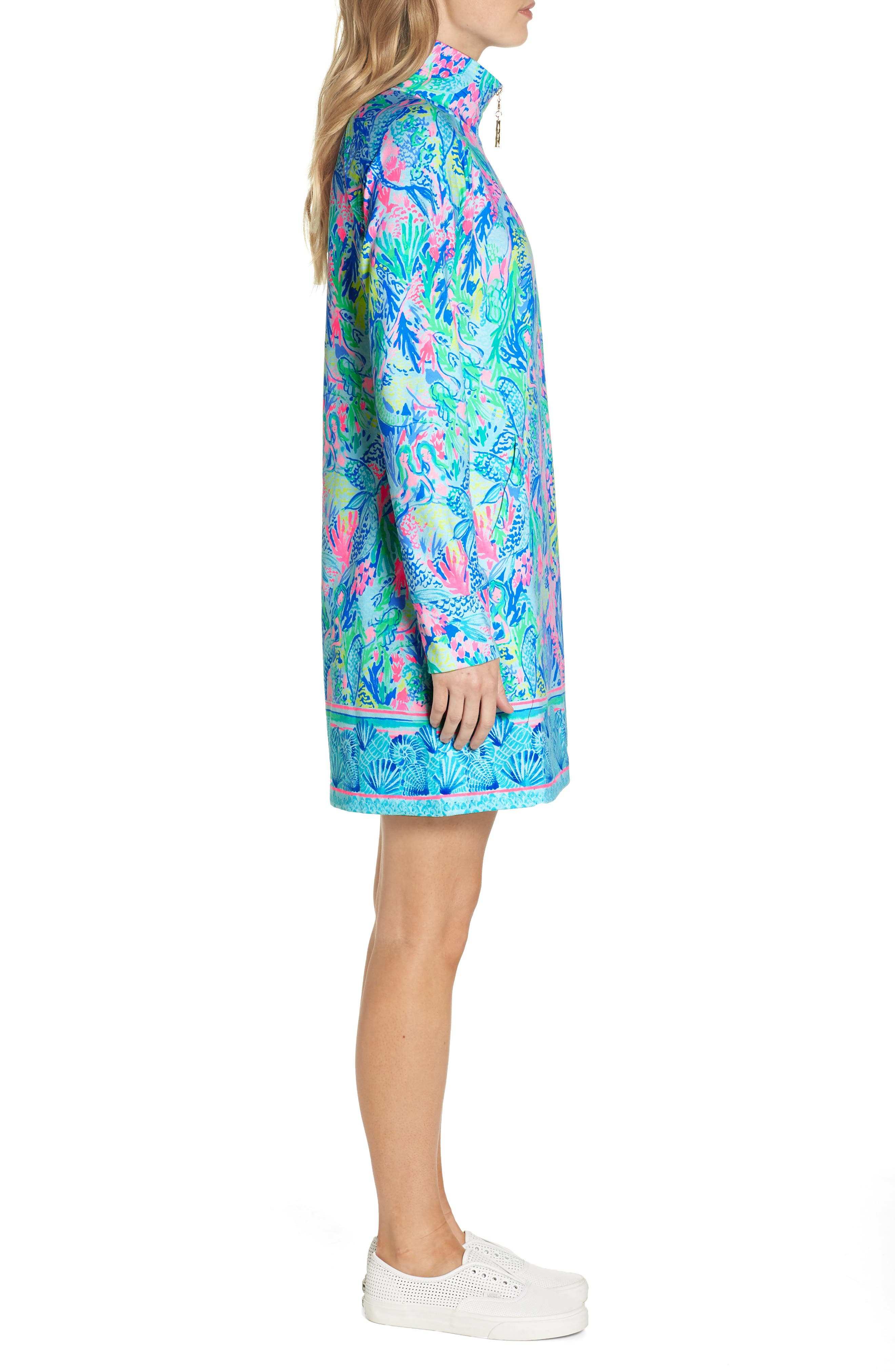 LILLY PULITZER<SUP>®</SUP>,                             Lilly Pulitzer Skipper Shift Dress,                             Alternate thumbnail 3, color,                             449