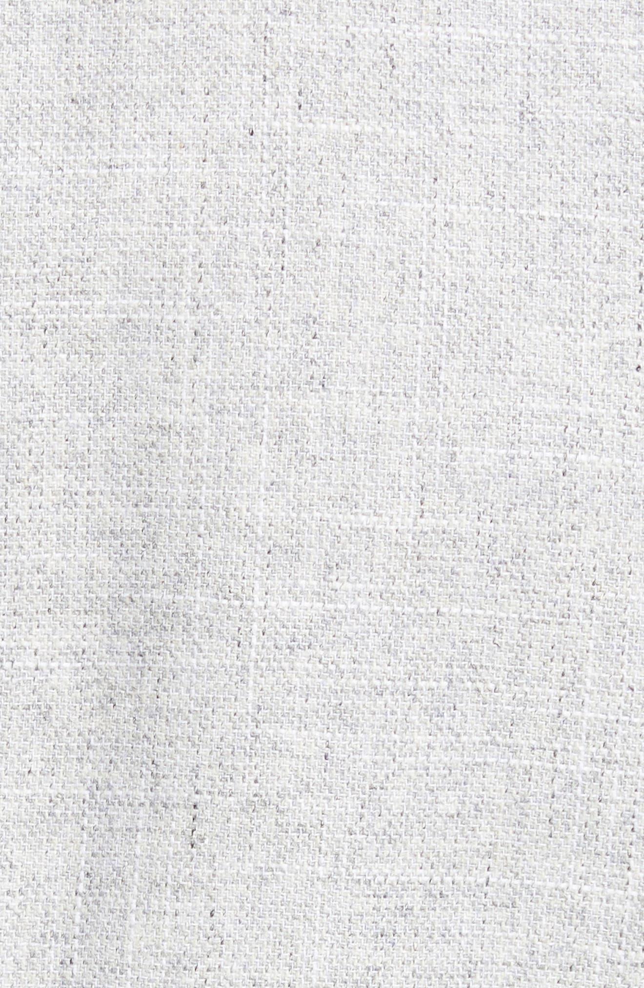Hutsons Trim Fit Wool Blend Blazer,                             Alternate thumbnail 6, color,                             SILVER