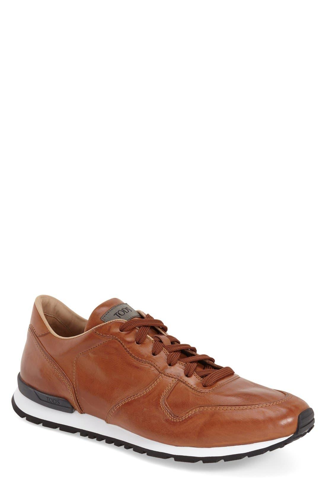 'Allacciato' Sneaker,                             Main thumbnail 5, color,