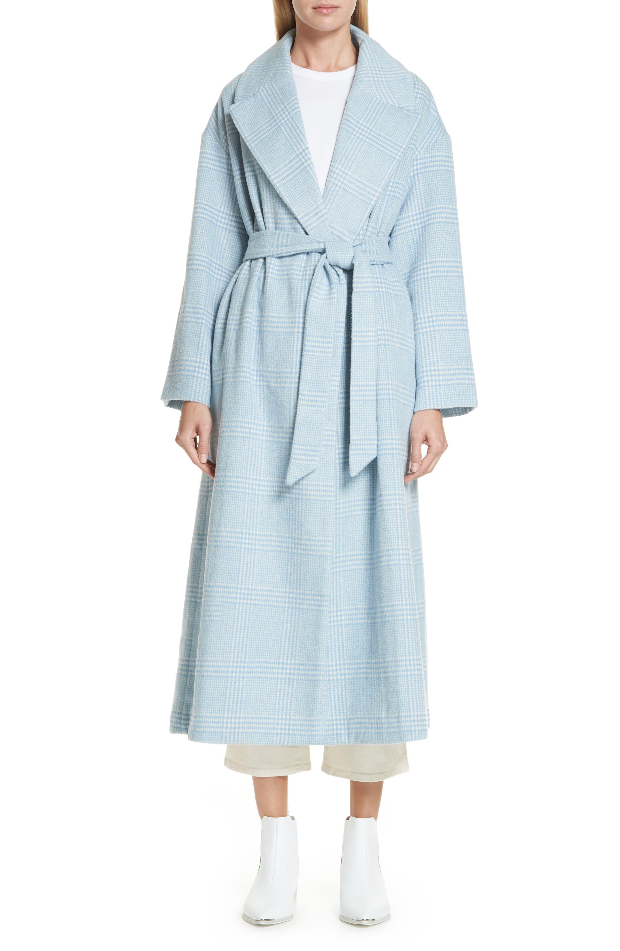Woodside Coat,                         Main,                         color, SERENITY BLUE