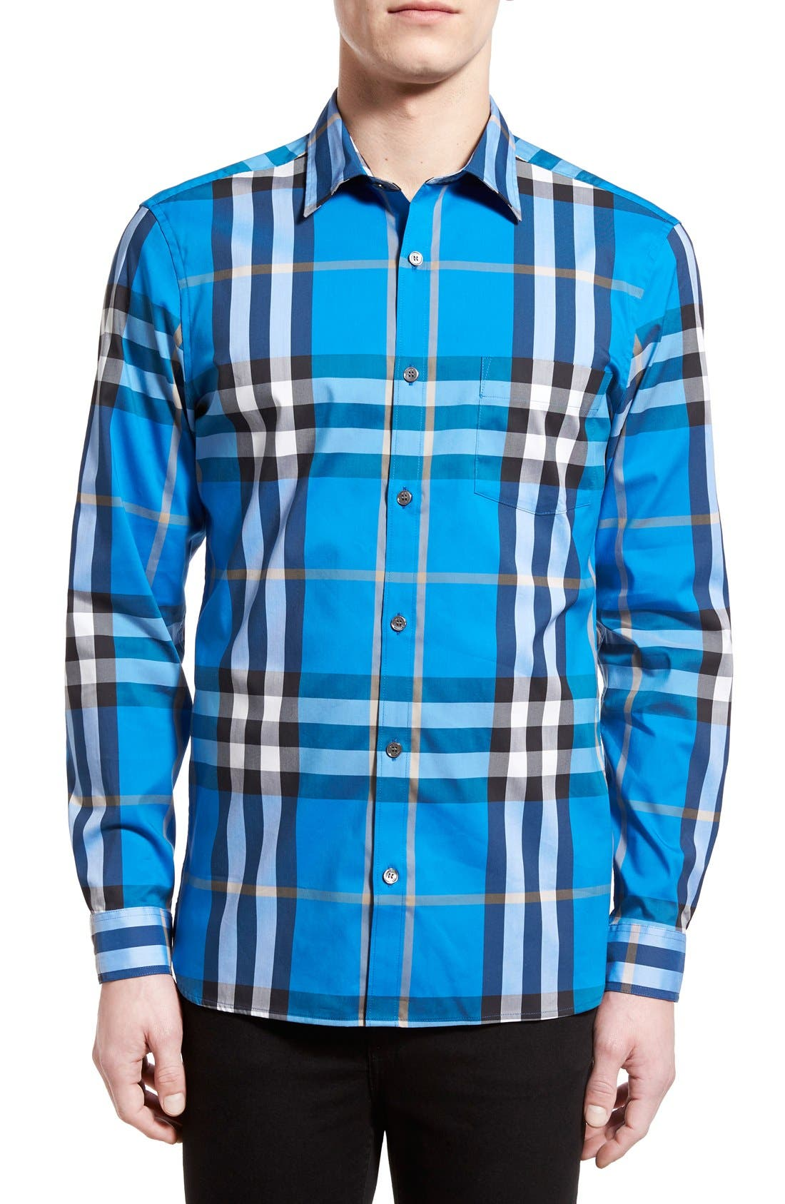 Nelson Check Sport Shirt,                             Main thumbnail 17, color,