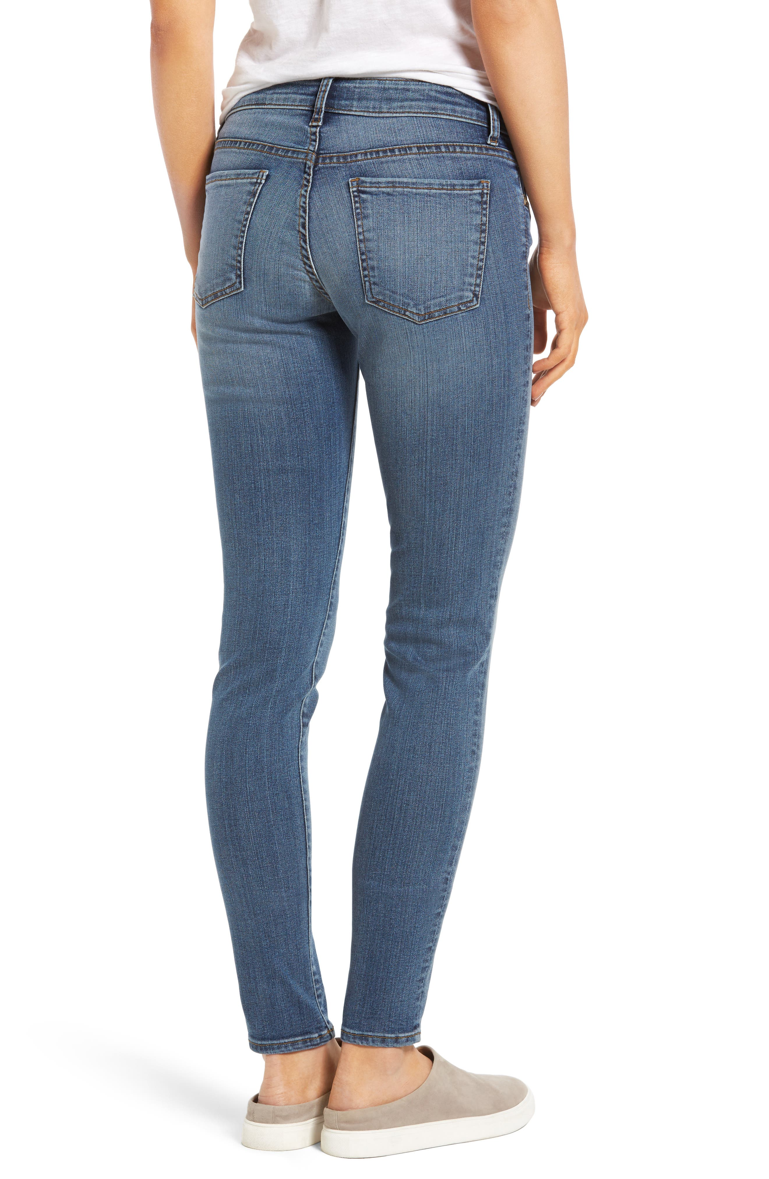 Donna Skinny Jeans,                             Alternate thumbnail 2, color,                             406