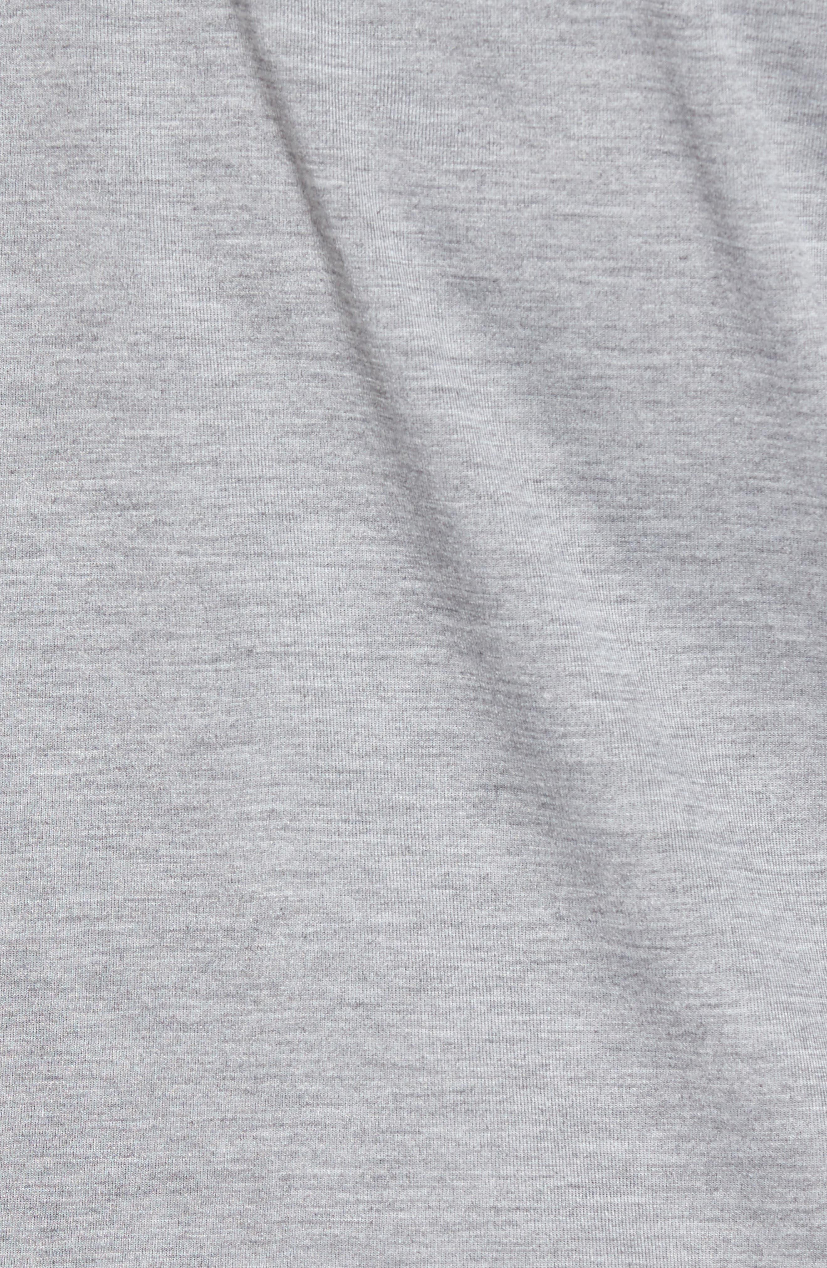 Tie Front Sweatshirt,                             Alternate thumbnail 5, color,                             030