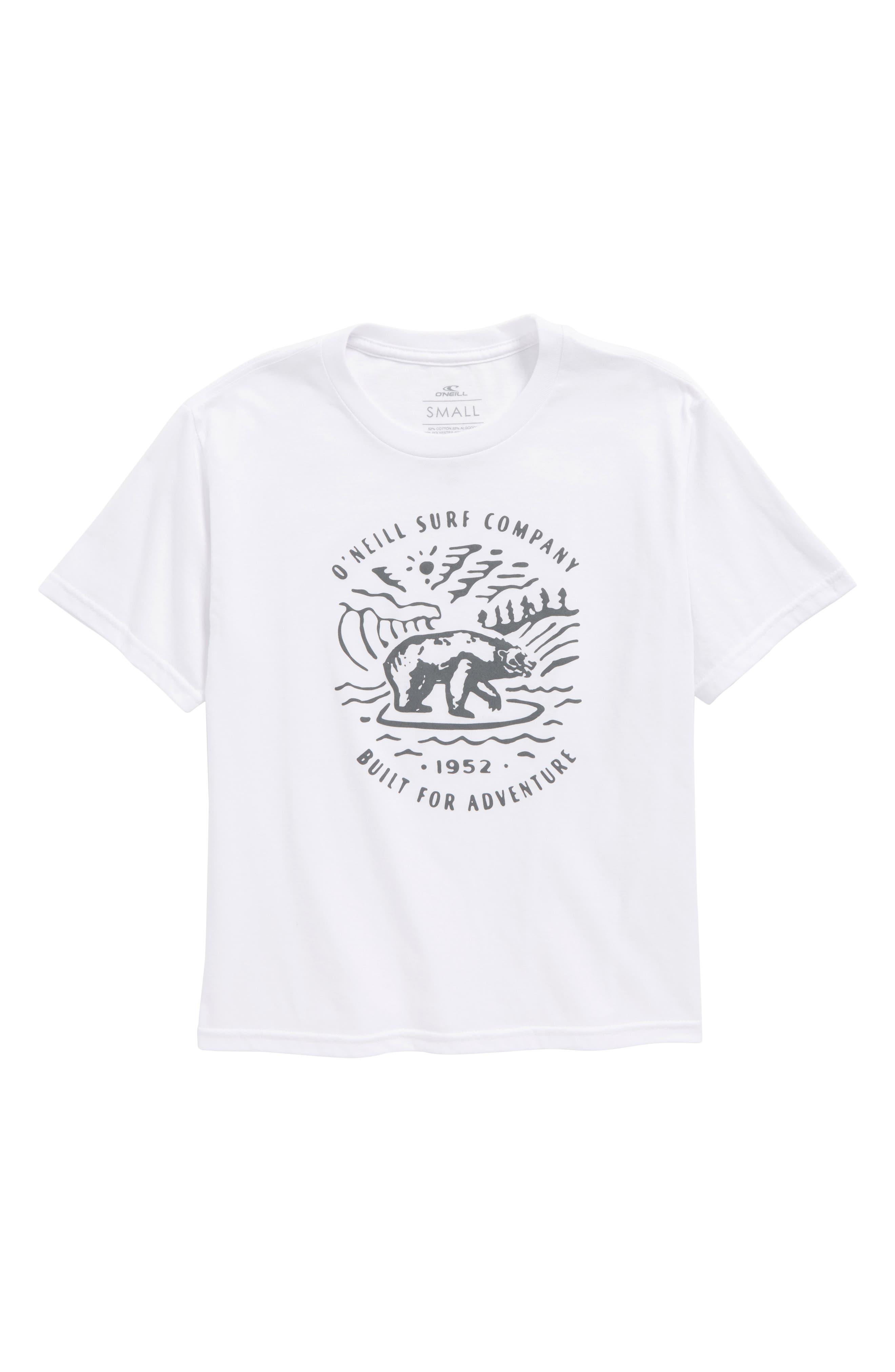 Roamer T-Shirt,                         Main,                         color, 100