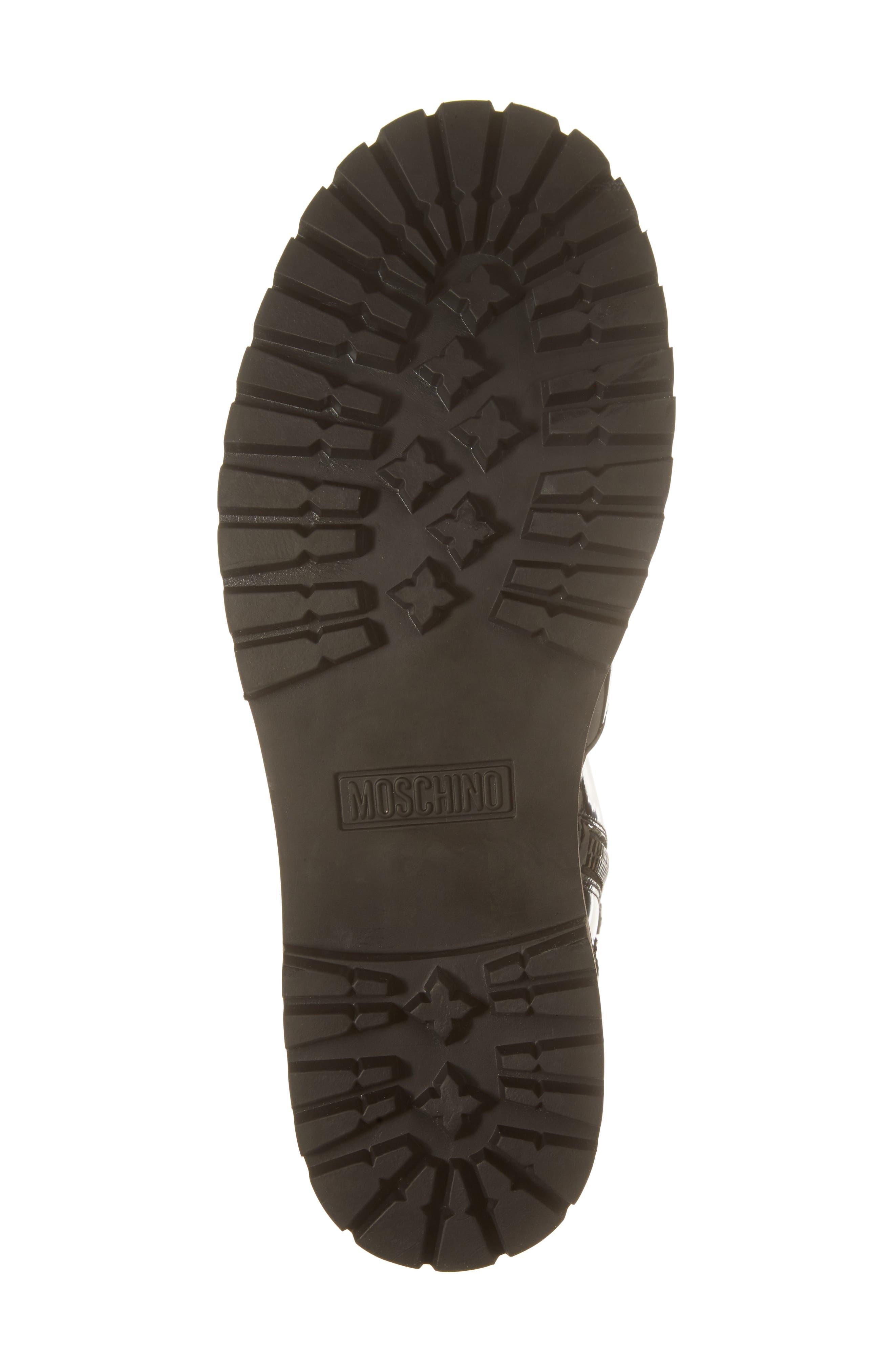 Plain Toe Boot,                             Alternate thumbnail 6, color,                             001