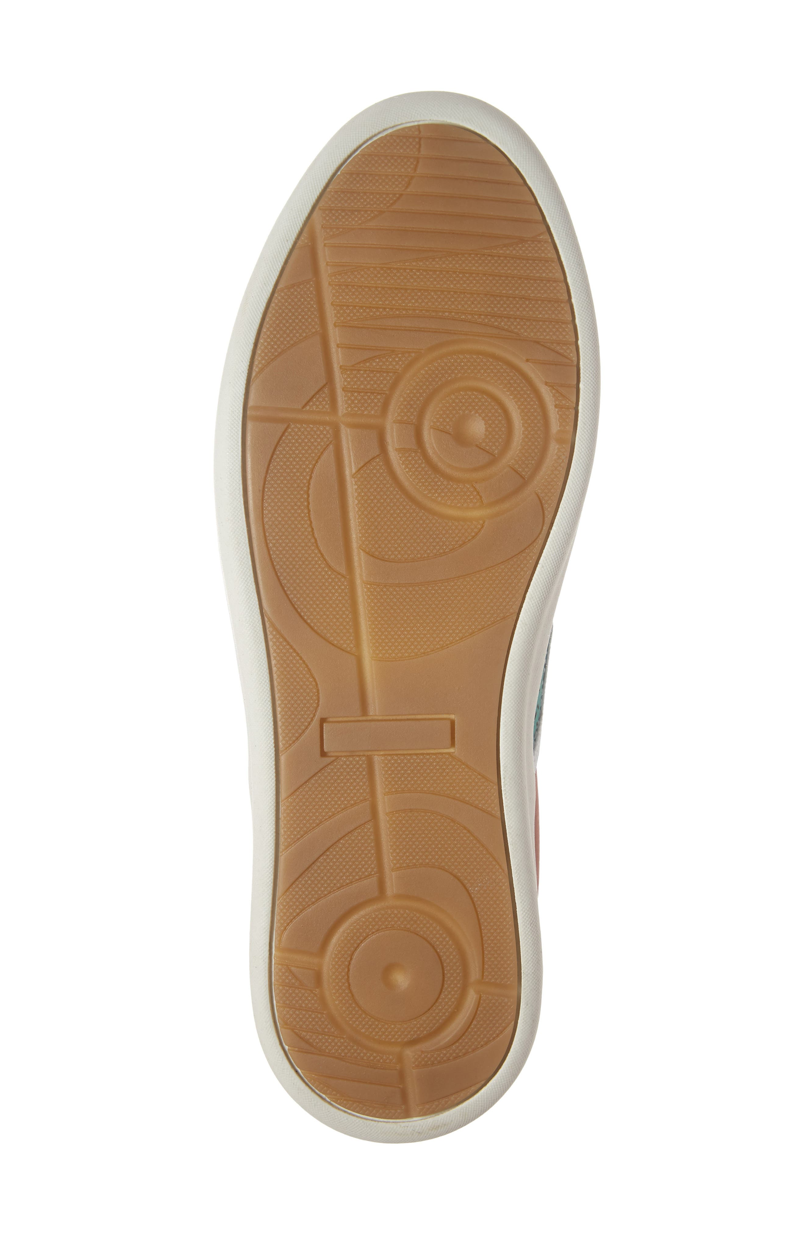 Malibu Perforated Loafer,                             Alternate thumbnail 6, color,                             AQUA/PINK NUBUCK