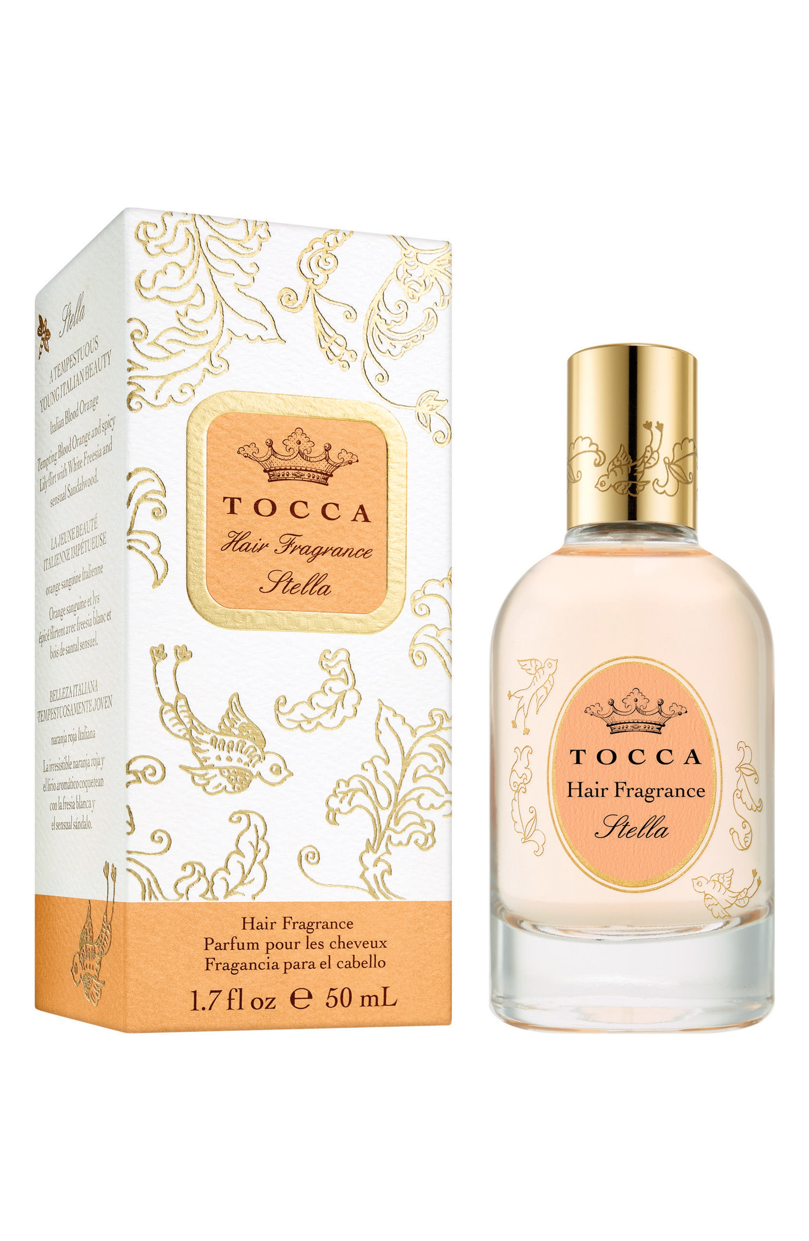 TOCCA Stella Hair Fragrance, Main, color, NO COLOR