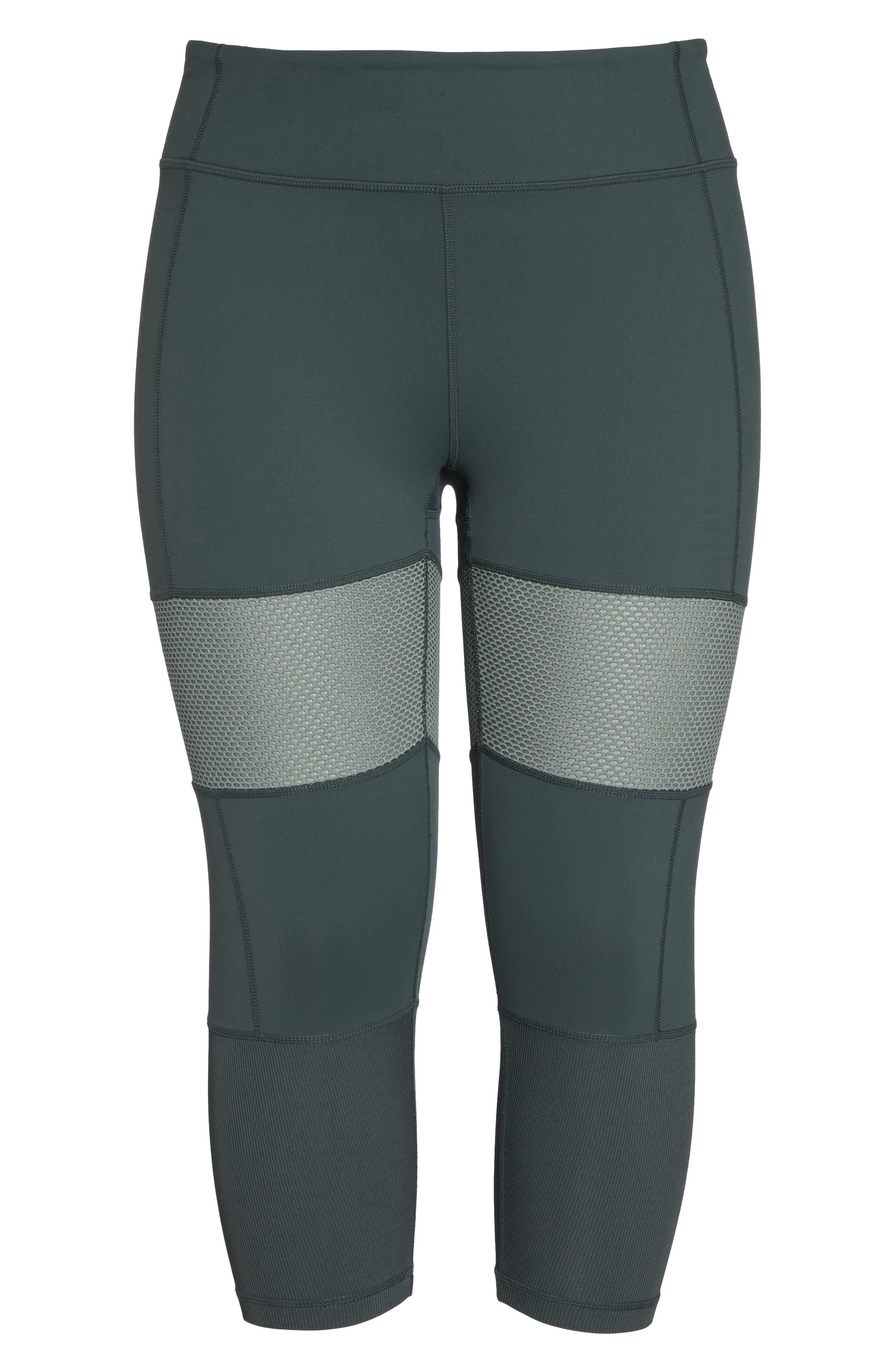 Blissed Out Crop Leggings,                             Alternate thumbnail 6, color,                             021