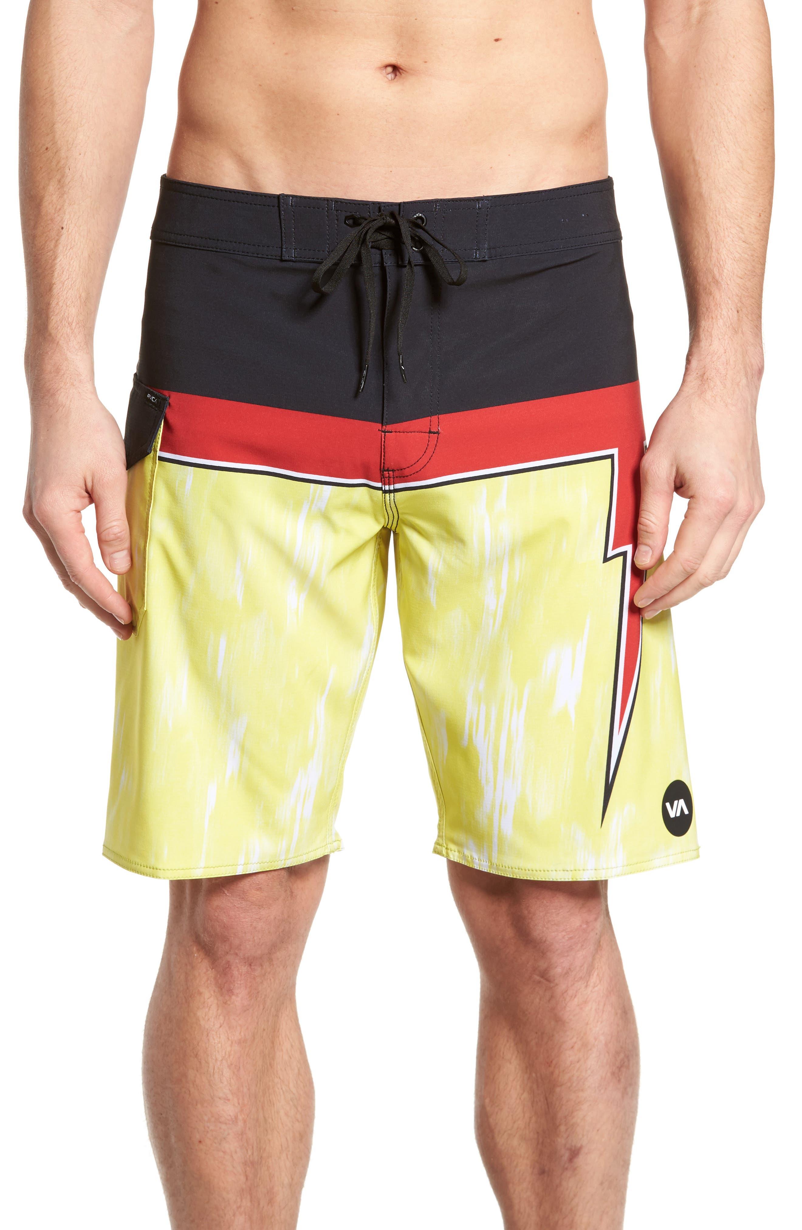Makua Bolt Board Shorts,                         Main,                         color, 740
