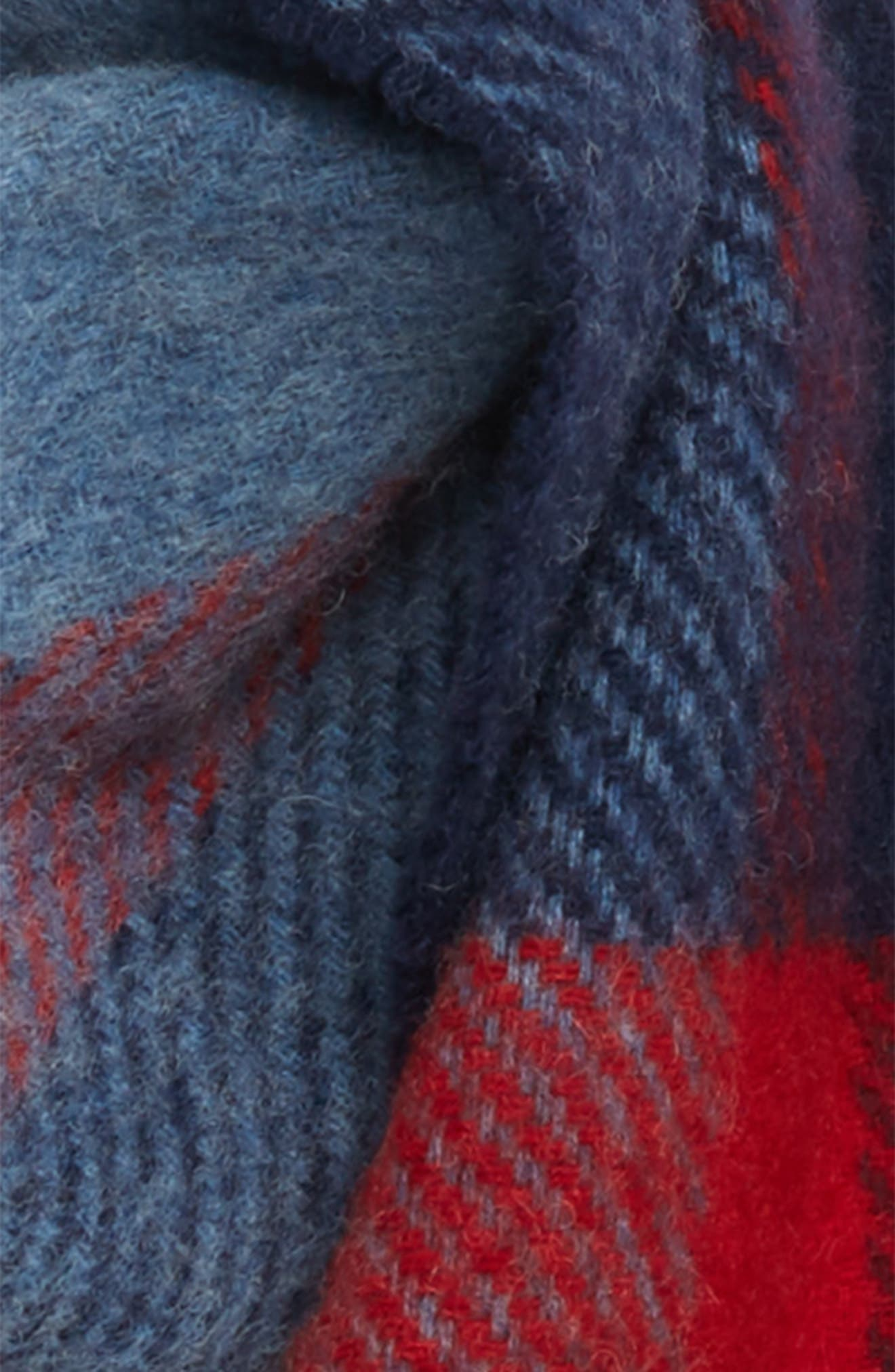 BARBOUR,                             Oakwell Wool Scarf,                             Alternate thumbnail 3, color,                             400