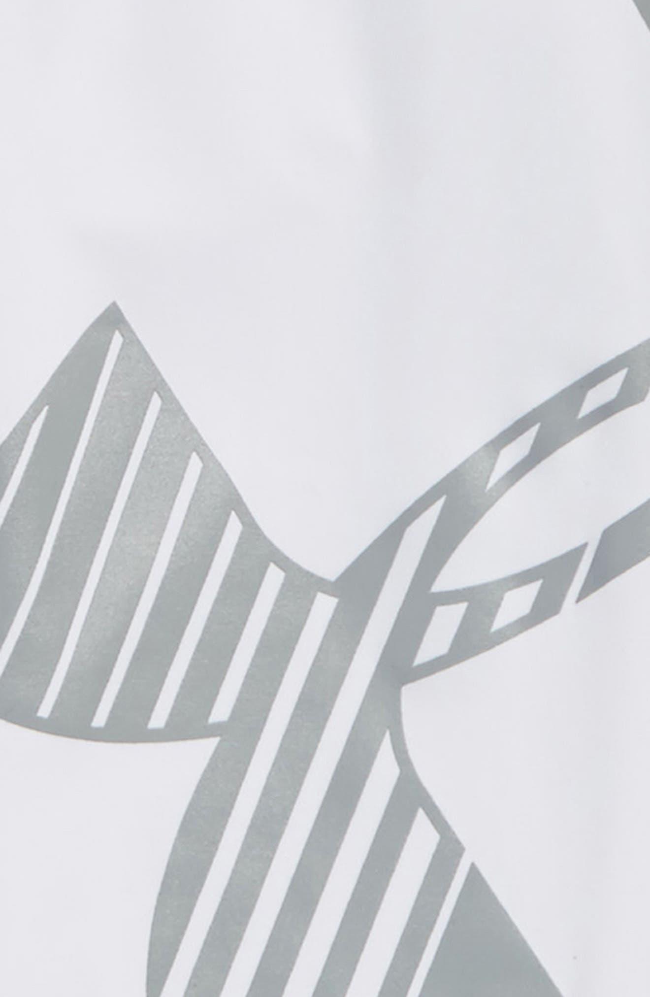 Logo HeatGear<sup>®</sup> 3/4 Leggings,                             Alternate thumbnail 14, color,