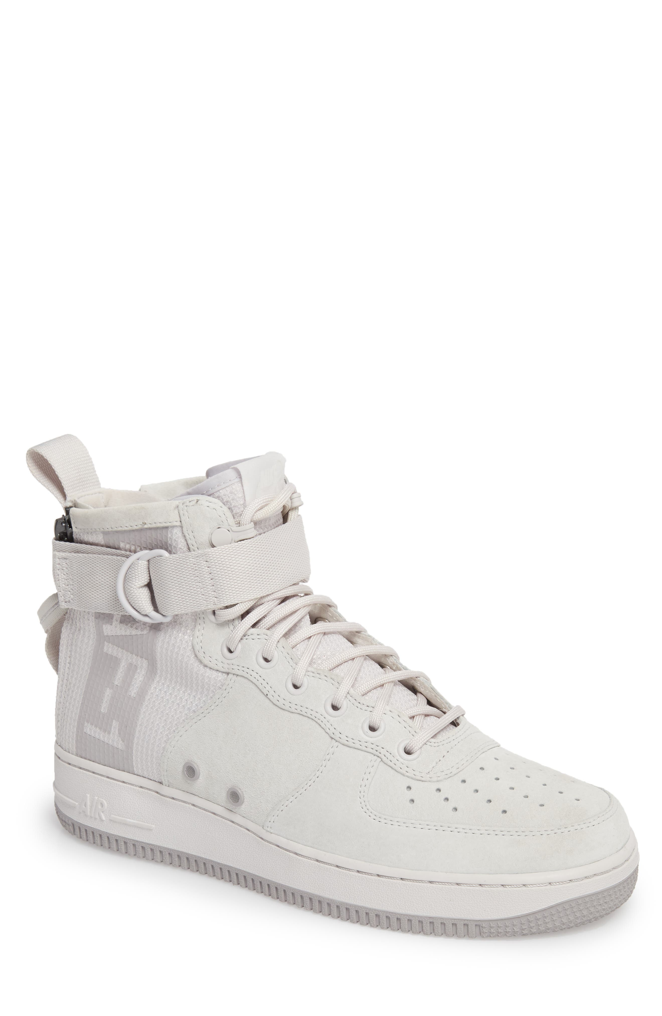 SF Air Force 1 Mid Suede Sneaker,                         Main,                         color, 021