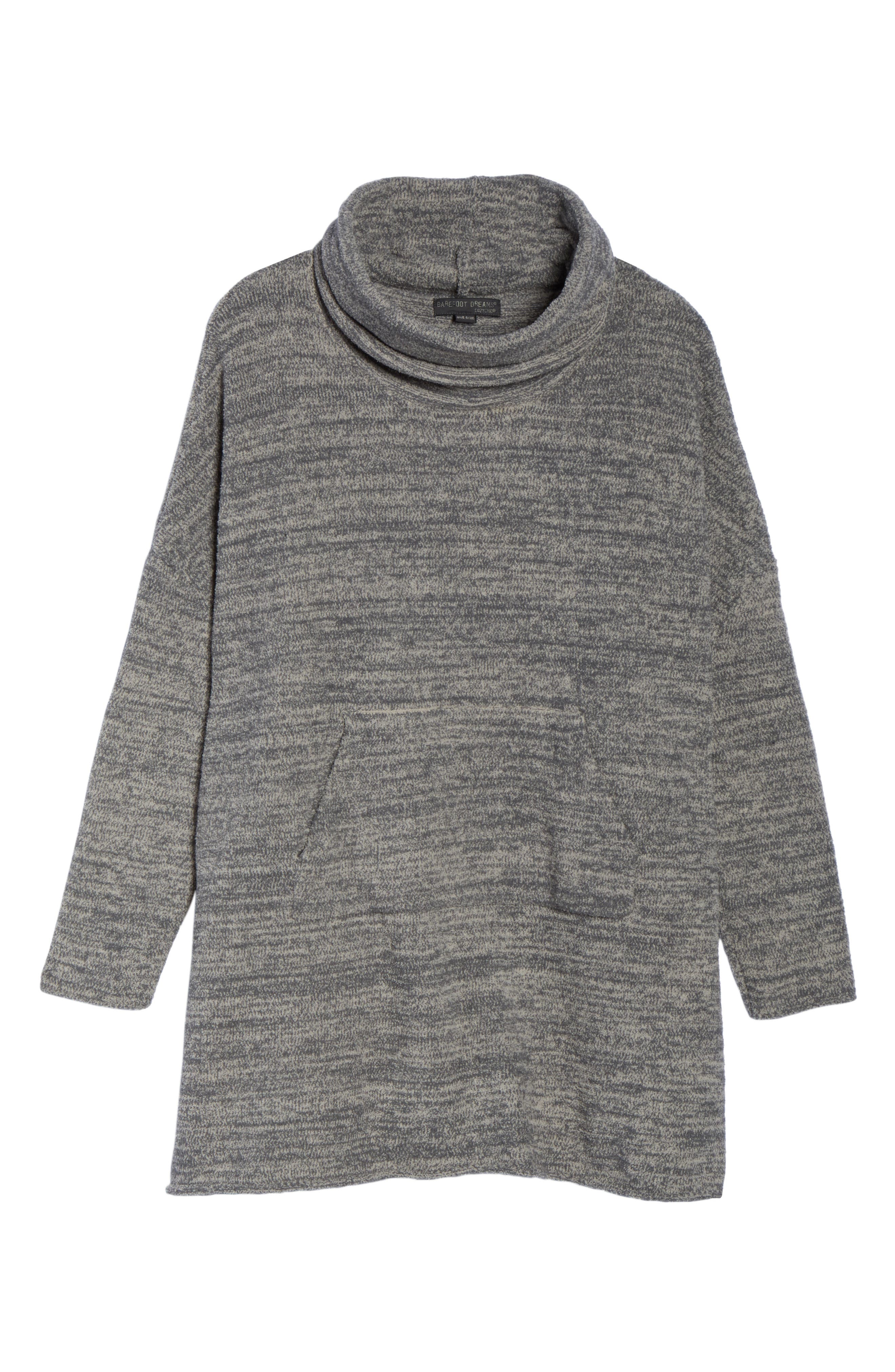 Cozychic<sup>®</sup> Lounge Pullover,                             Alternate thumbnail 6, color,                             GRAPHITE/ STONE HEATHERED