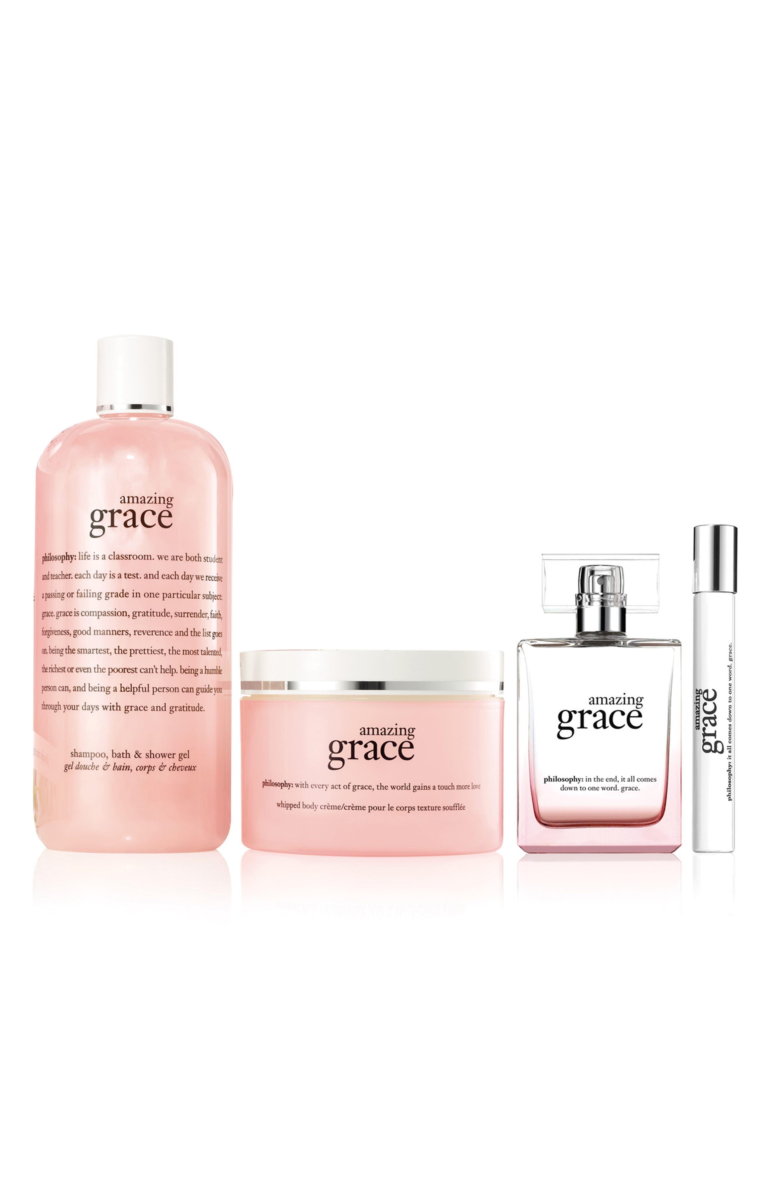 amazing grace eau de parfum set,                             Alternate thumbnail 2, color,                             000
