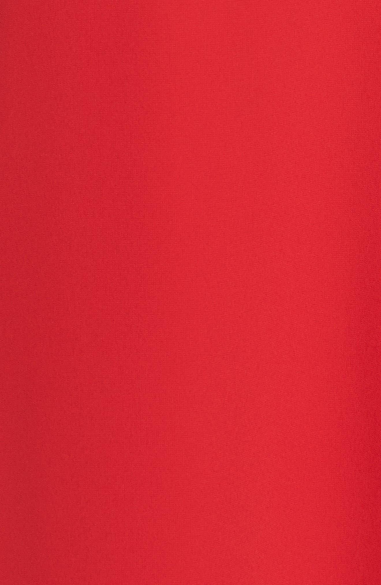 Souffle Chiffon Shift Dress,                             Alternate thumbnail 5, color,                             604