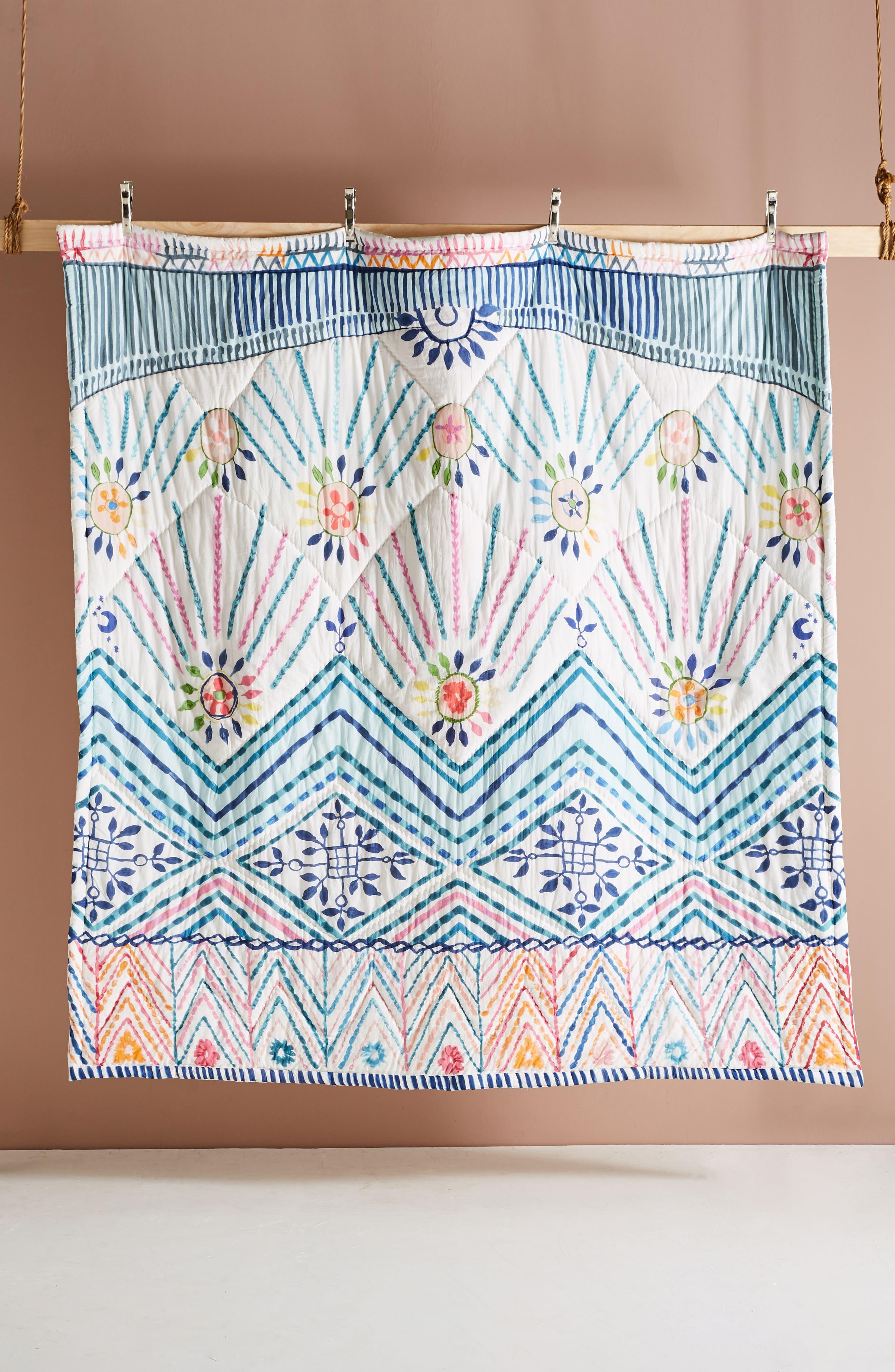 Zadar Quilt,                             Alternate thumbnail 4, color,                             WHITE MULTI