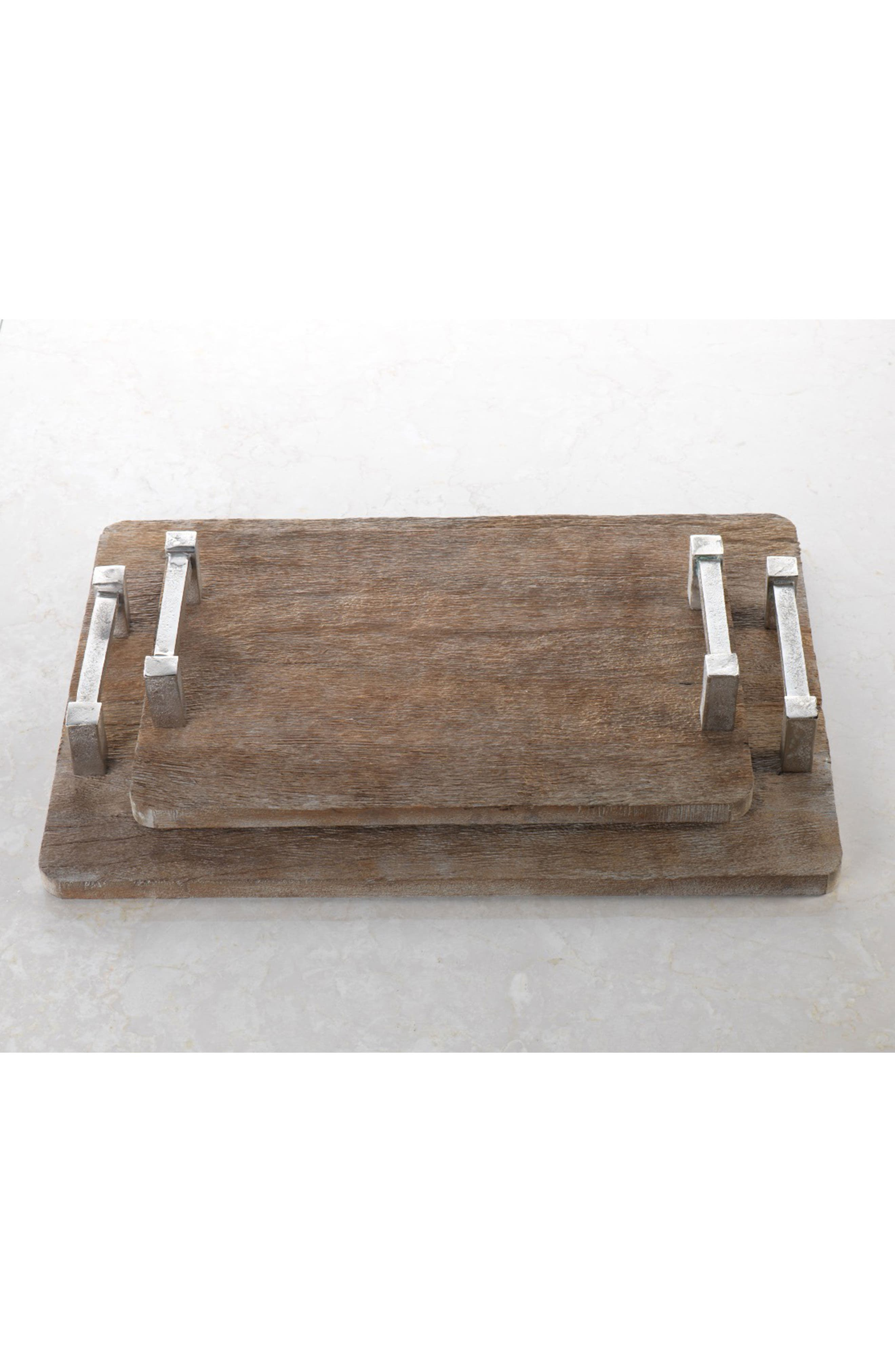 Asval Reclaimed Wood Serving Tray,                             Alternate thumbnail 2, color,                             200