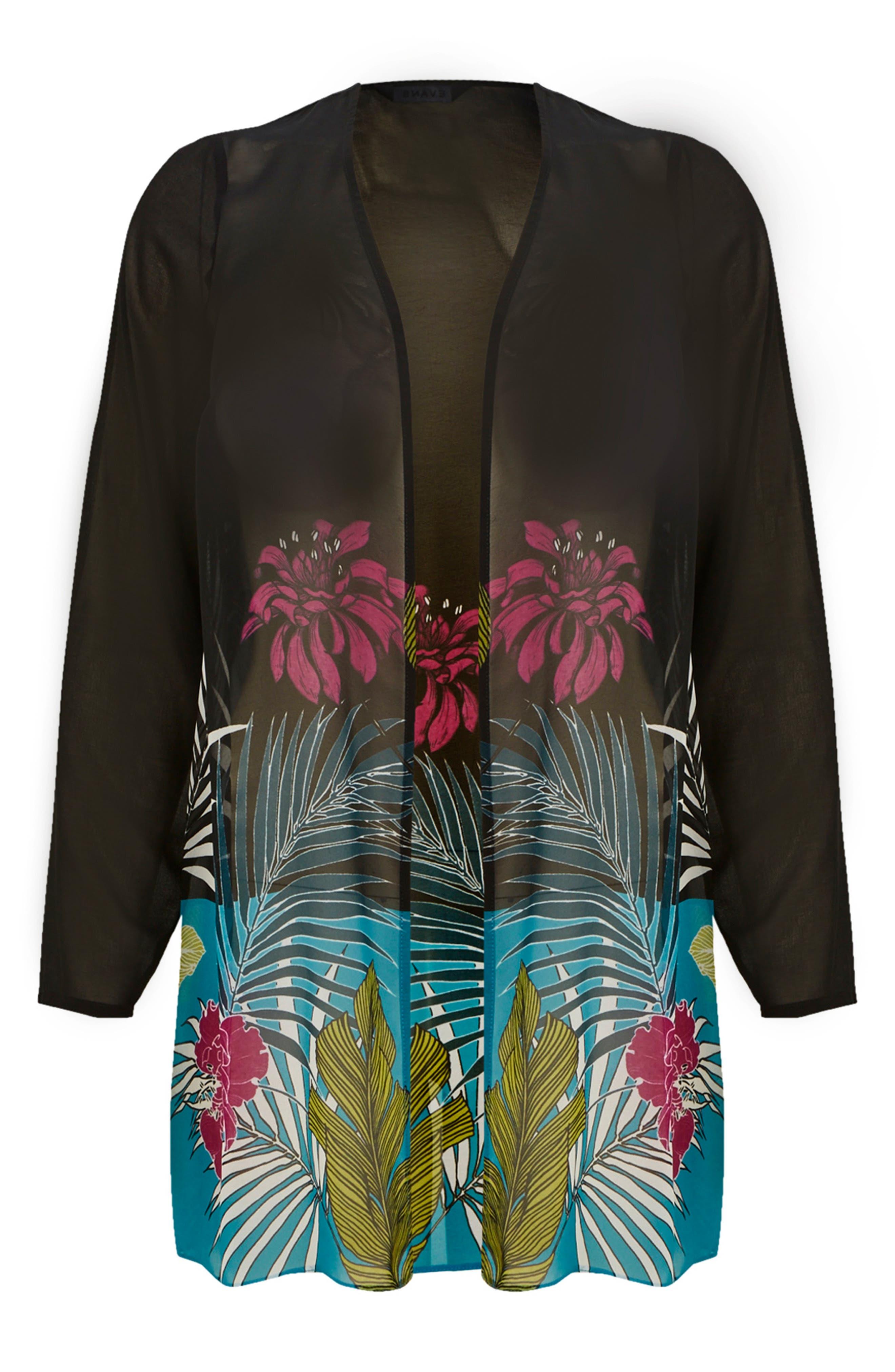 Tropical Kimono,                             Alternate thumbnail 4, color,                             001