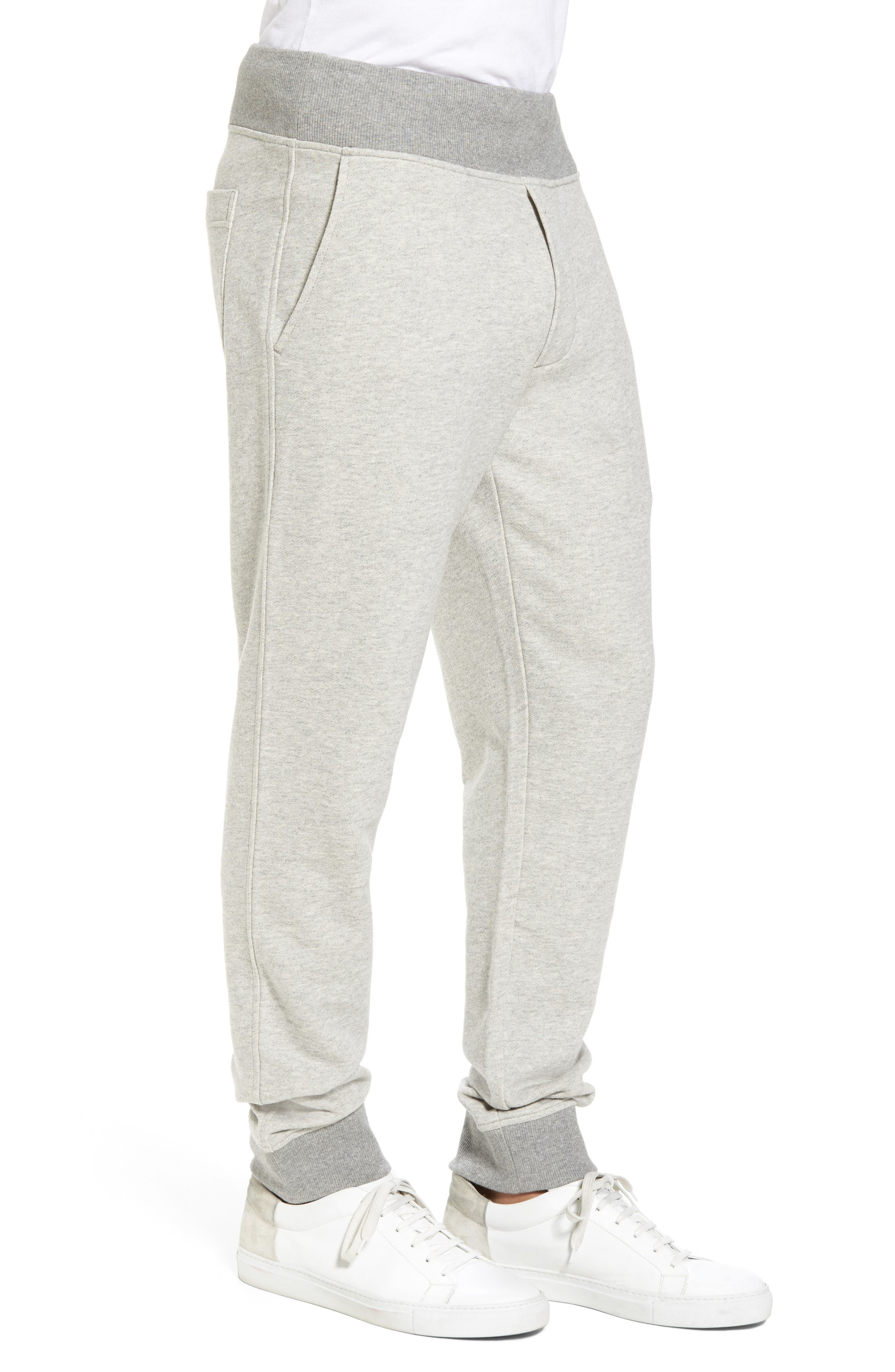 French Terry Regular Fit Sweatpants,                             Alternate thumbnail 6, color,