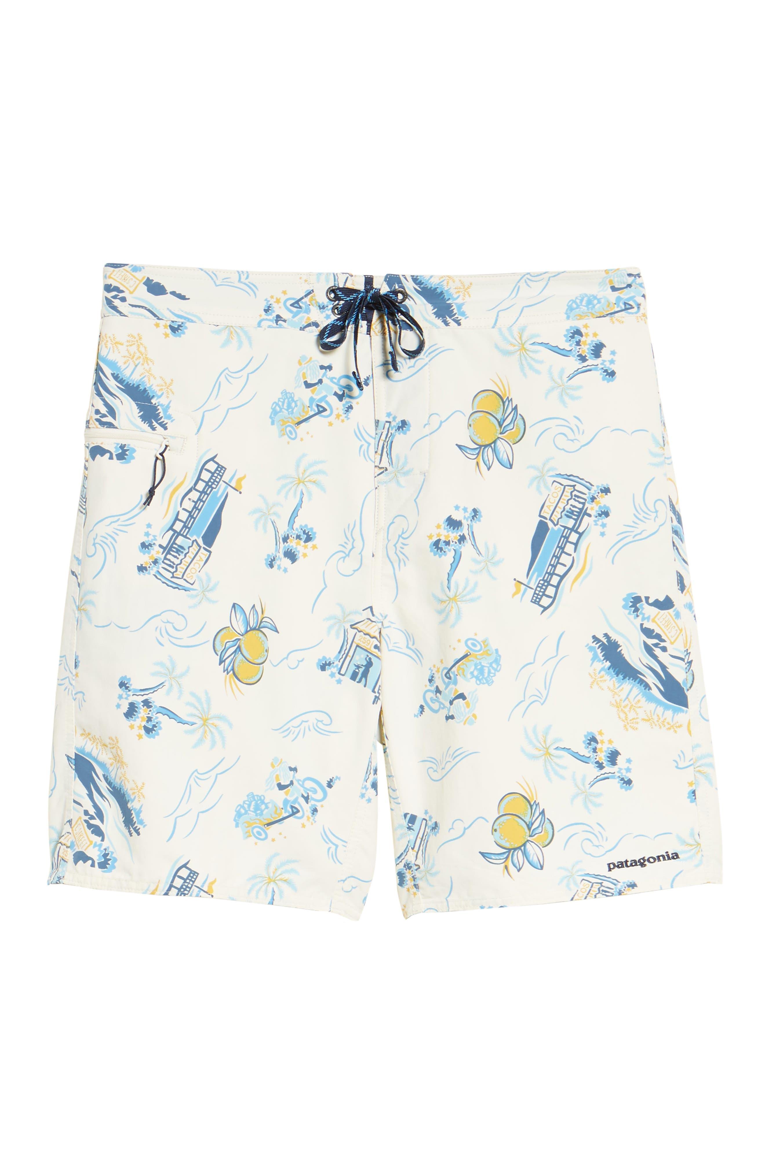 Wavefarer Board Shorts,                             Alternate thumbnail 6, color,                             100