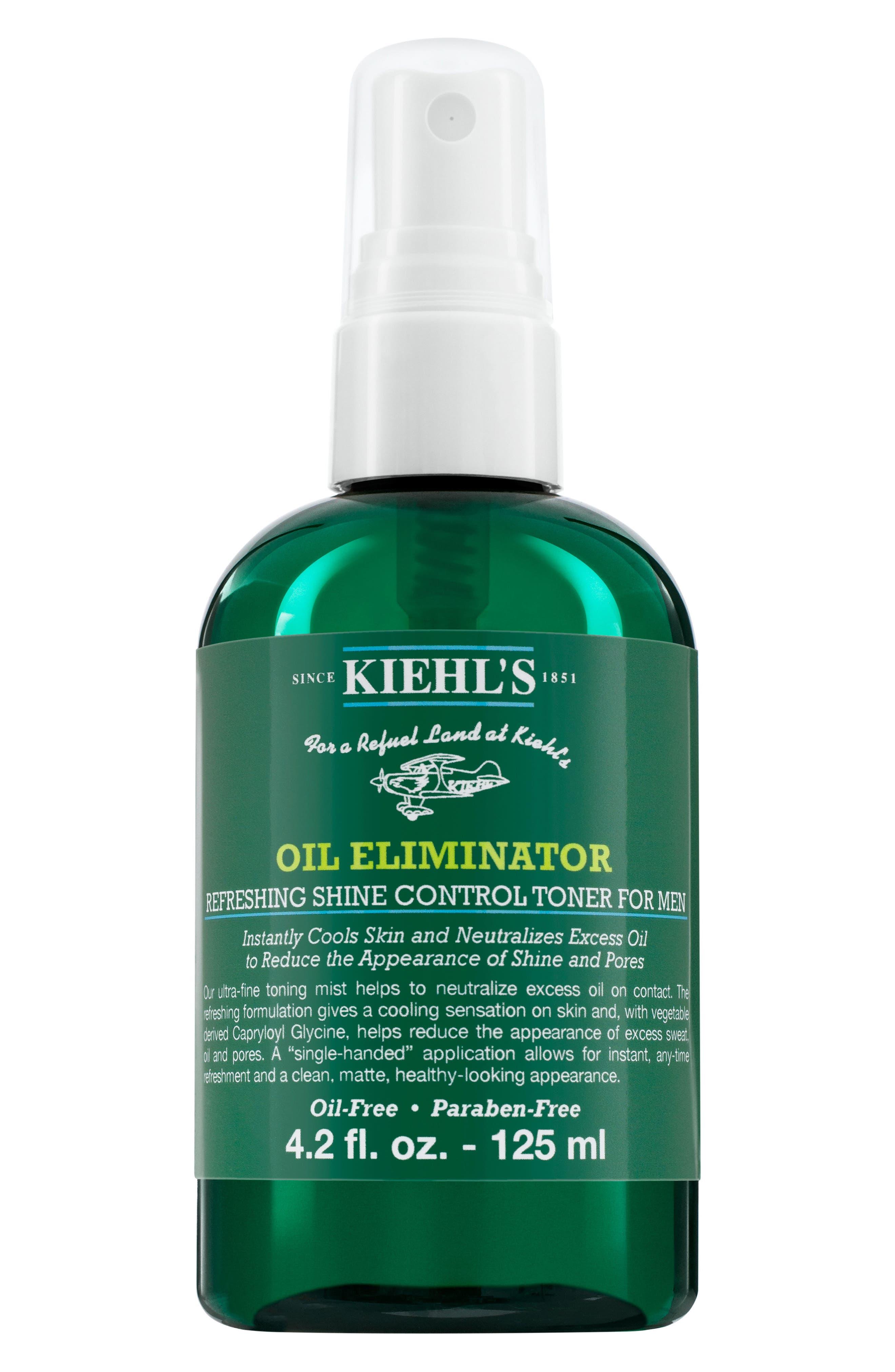 KIEHL'S SINCE 1851,                             Oil Eliminator Toner,                             Main thumbnail 1, color,                             NO COLOR