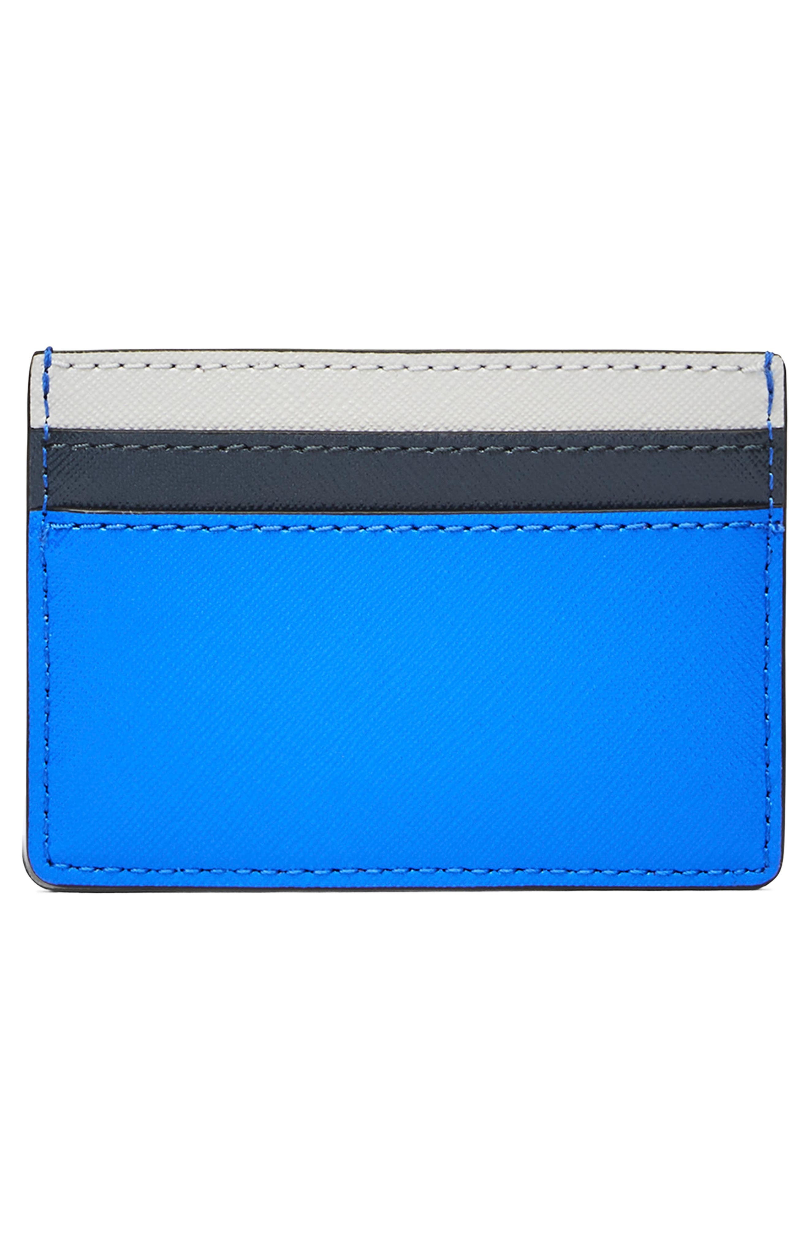 Snapshot Leather Card Case,                             Alternate thumbnail 2, color,                             400
