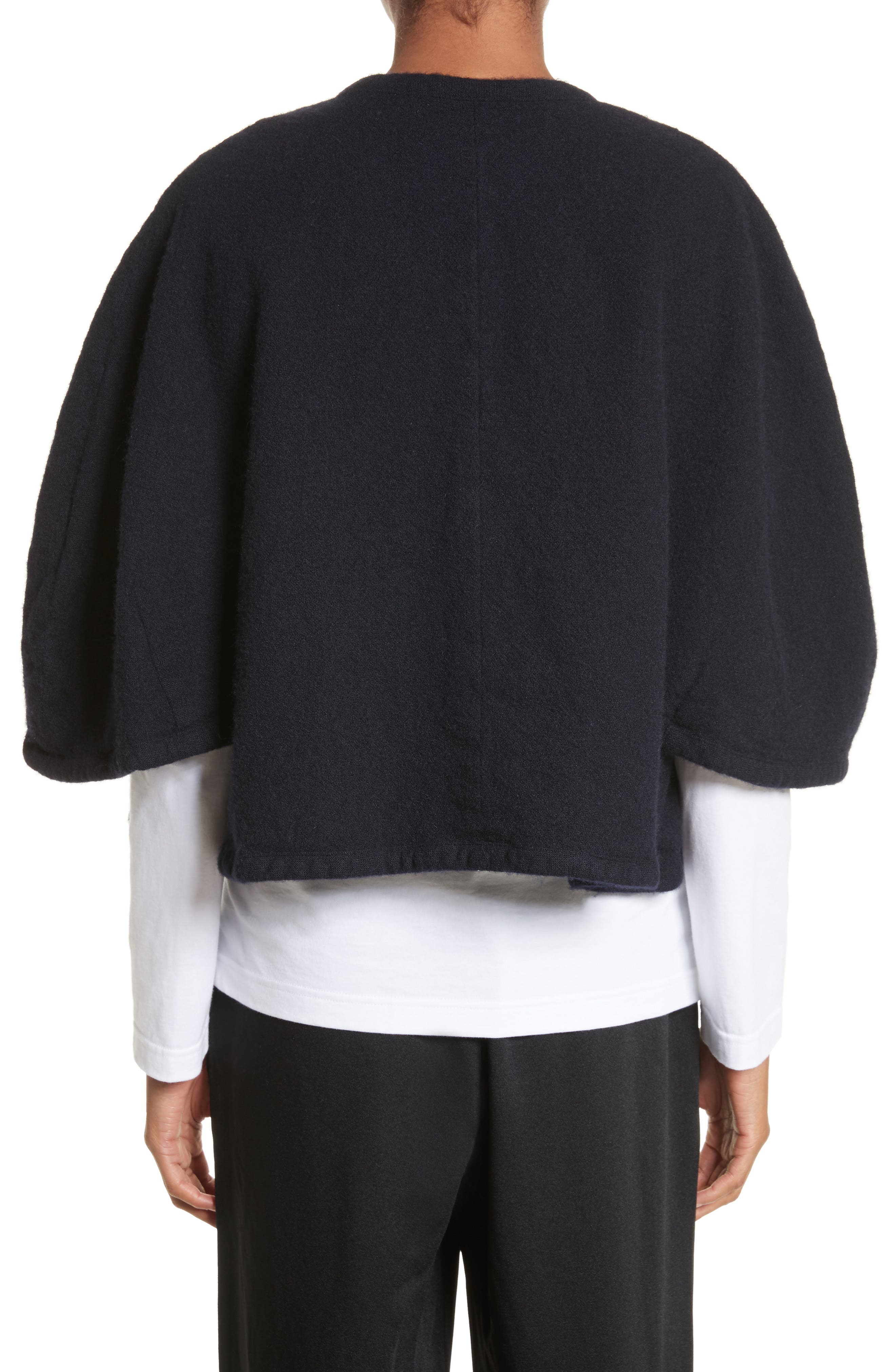 Elbow Sleeve Crop Jacket,                             Alternate thumbnail 2, color,                             400