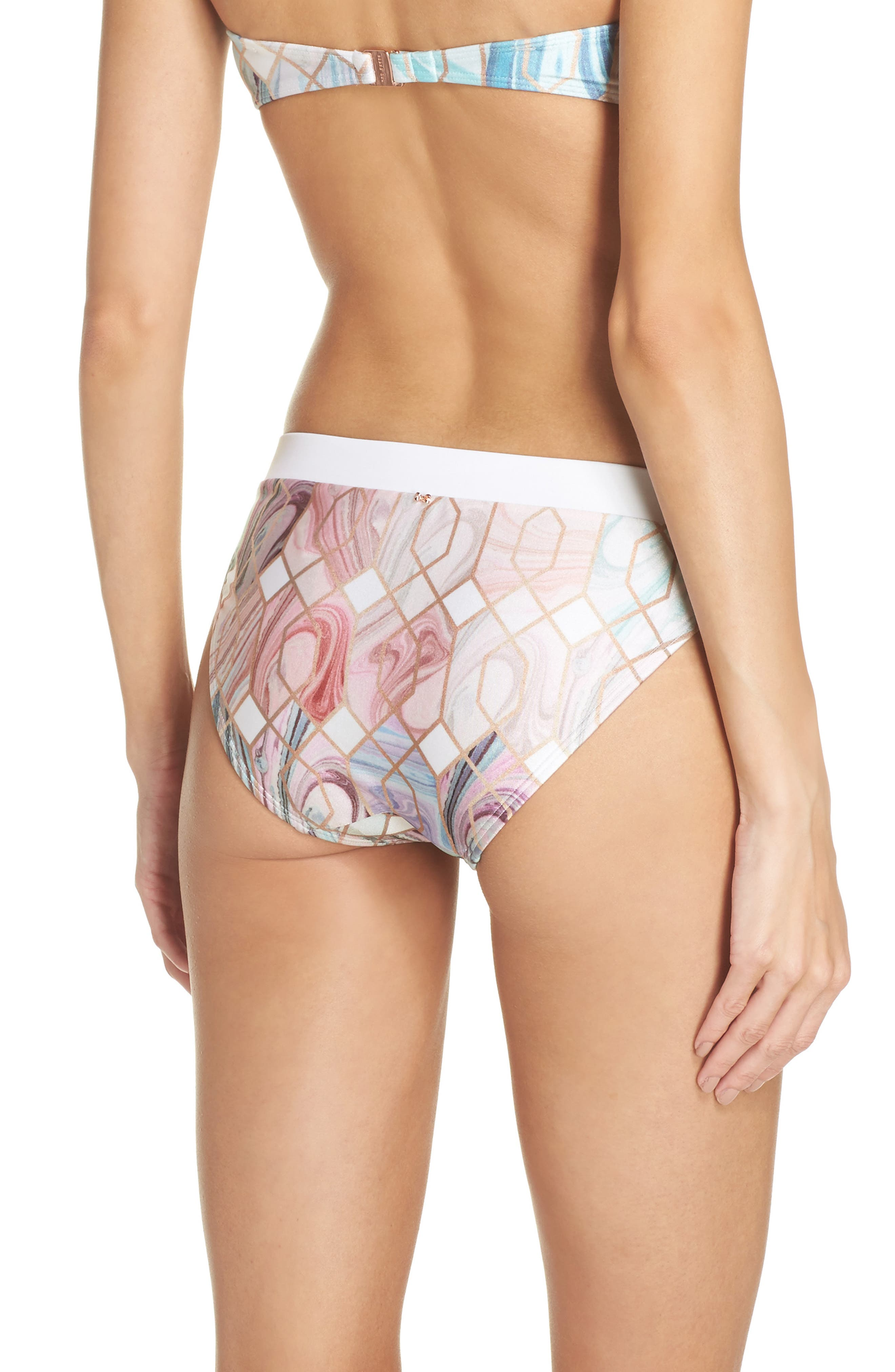 Sea of Clouds Hipster Bikini Bottoms,                             Alternate thumbnail 2, color,                             110