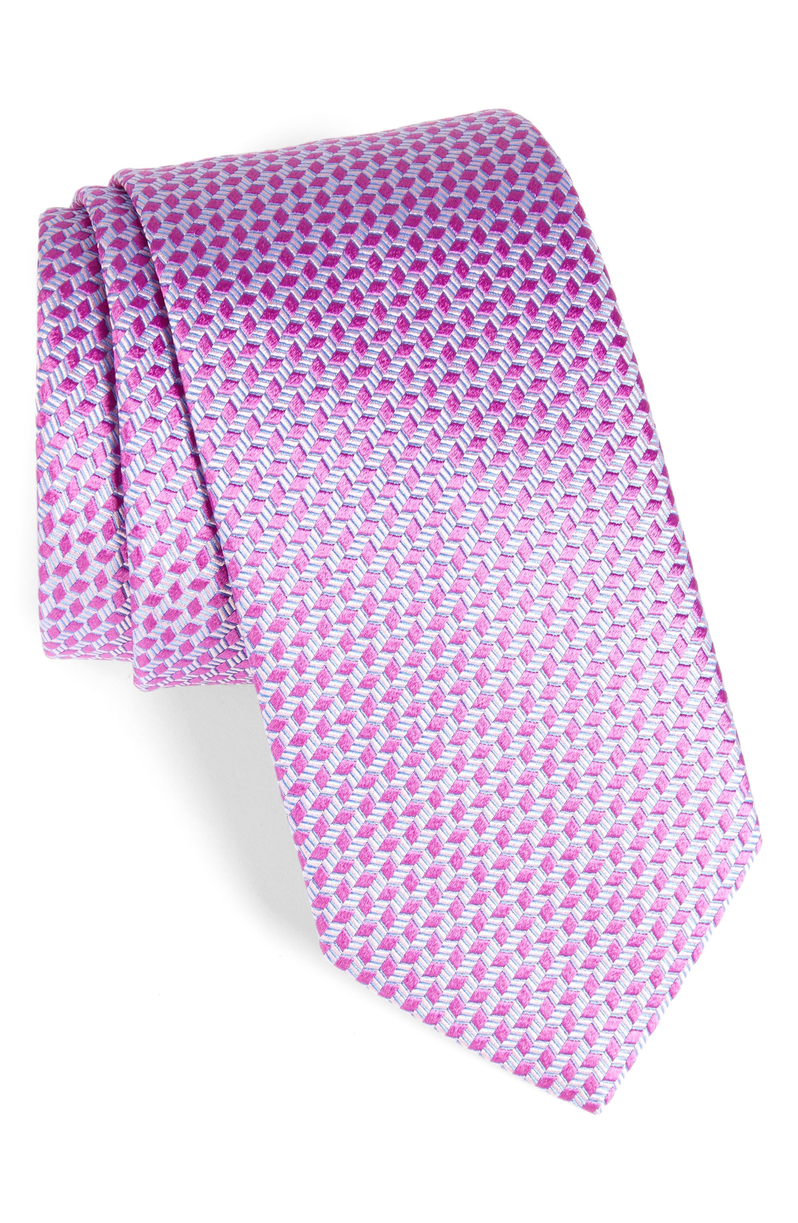Neat Silk Tie,                             Main thumbnail 3, color,