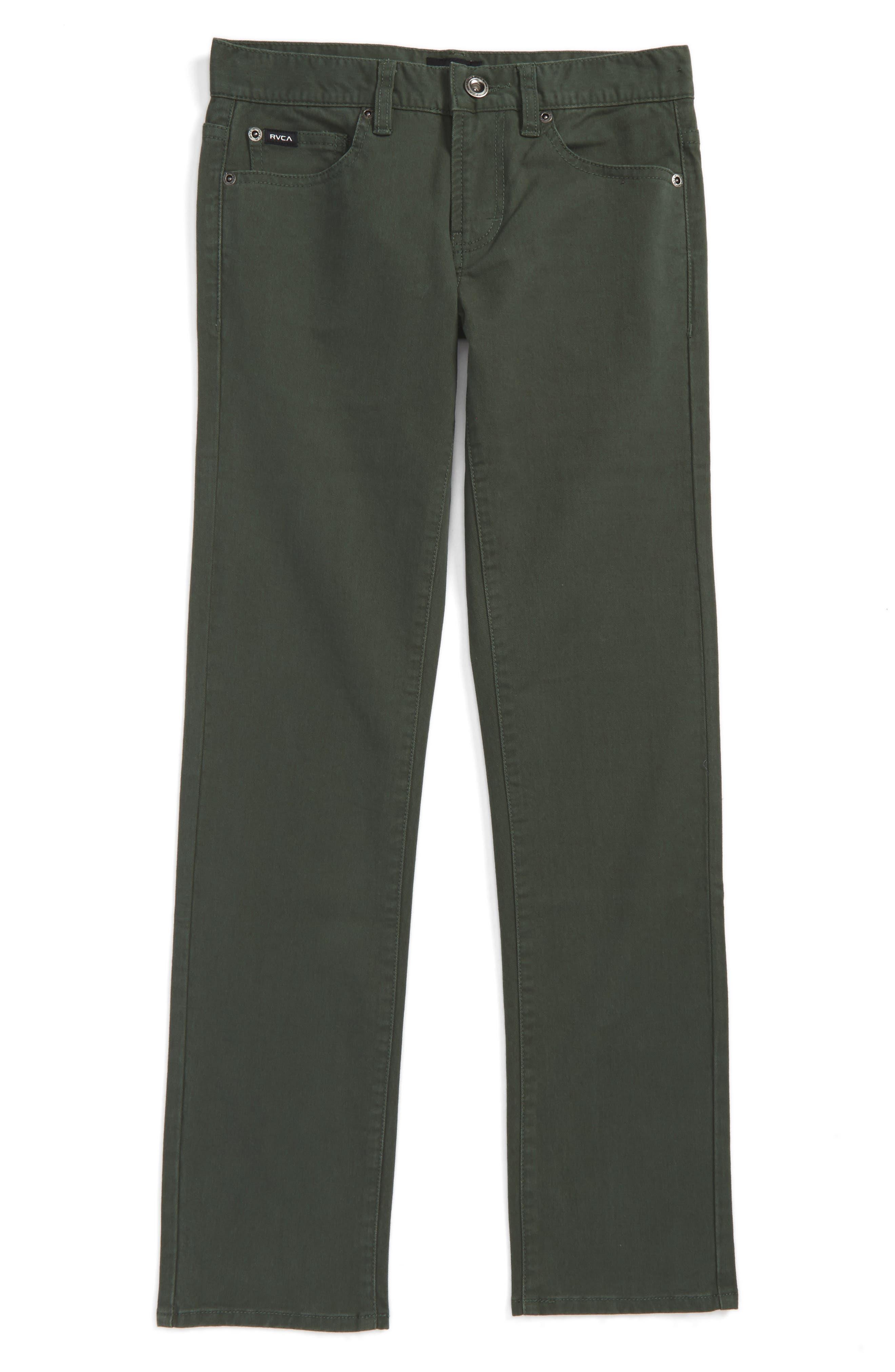 'Daggers' Slim Fit Twill Pants,                         Main,                         color, 315