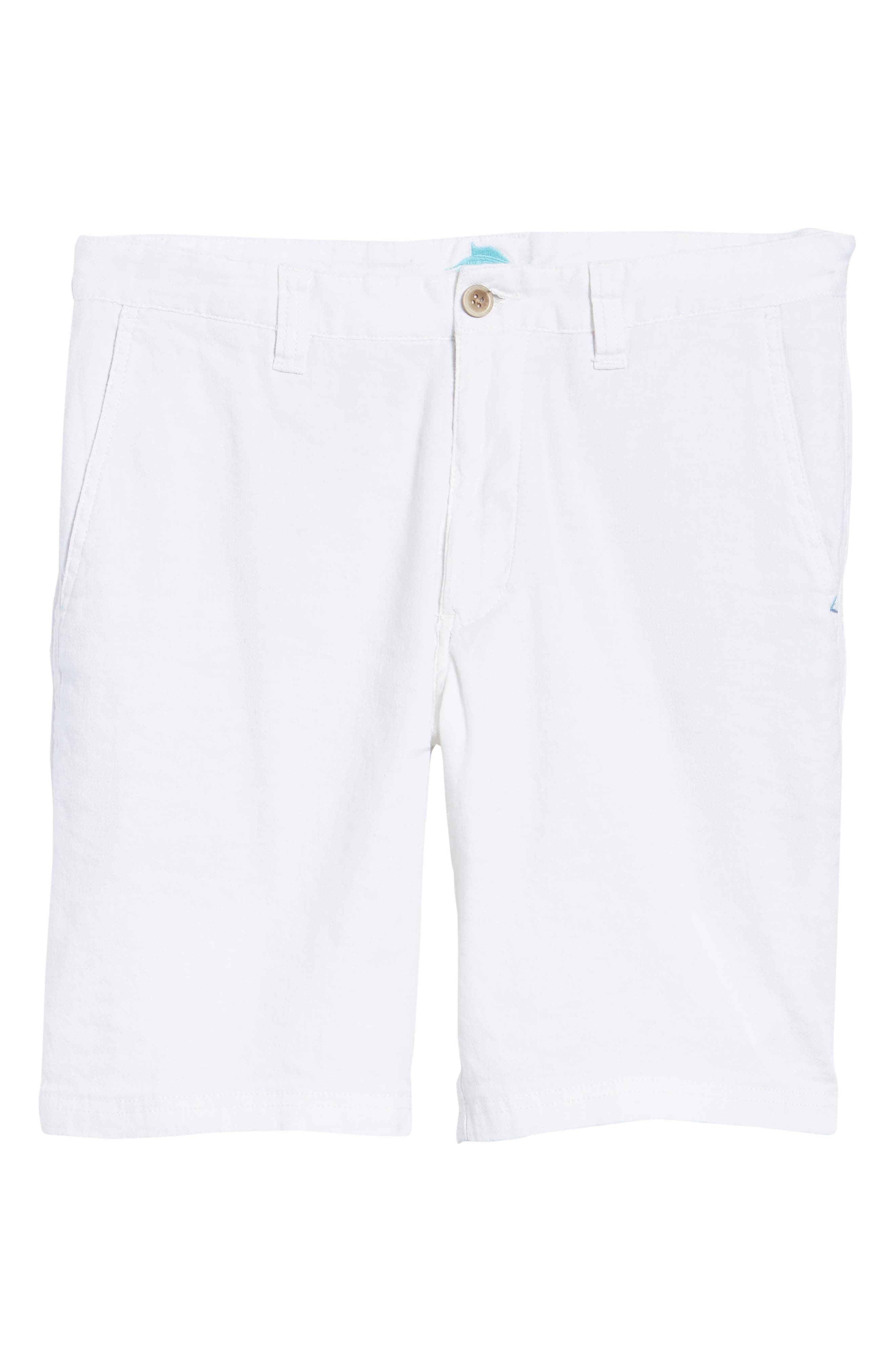 Beach Linen Blend Shorts,                             Alternate thumbnail 6, color,                             CONTINENTAL