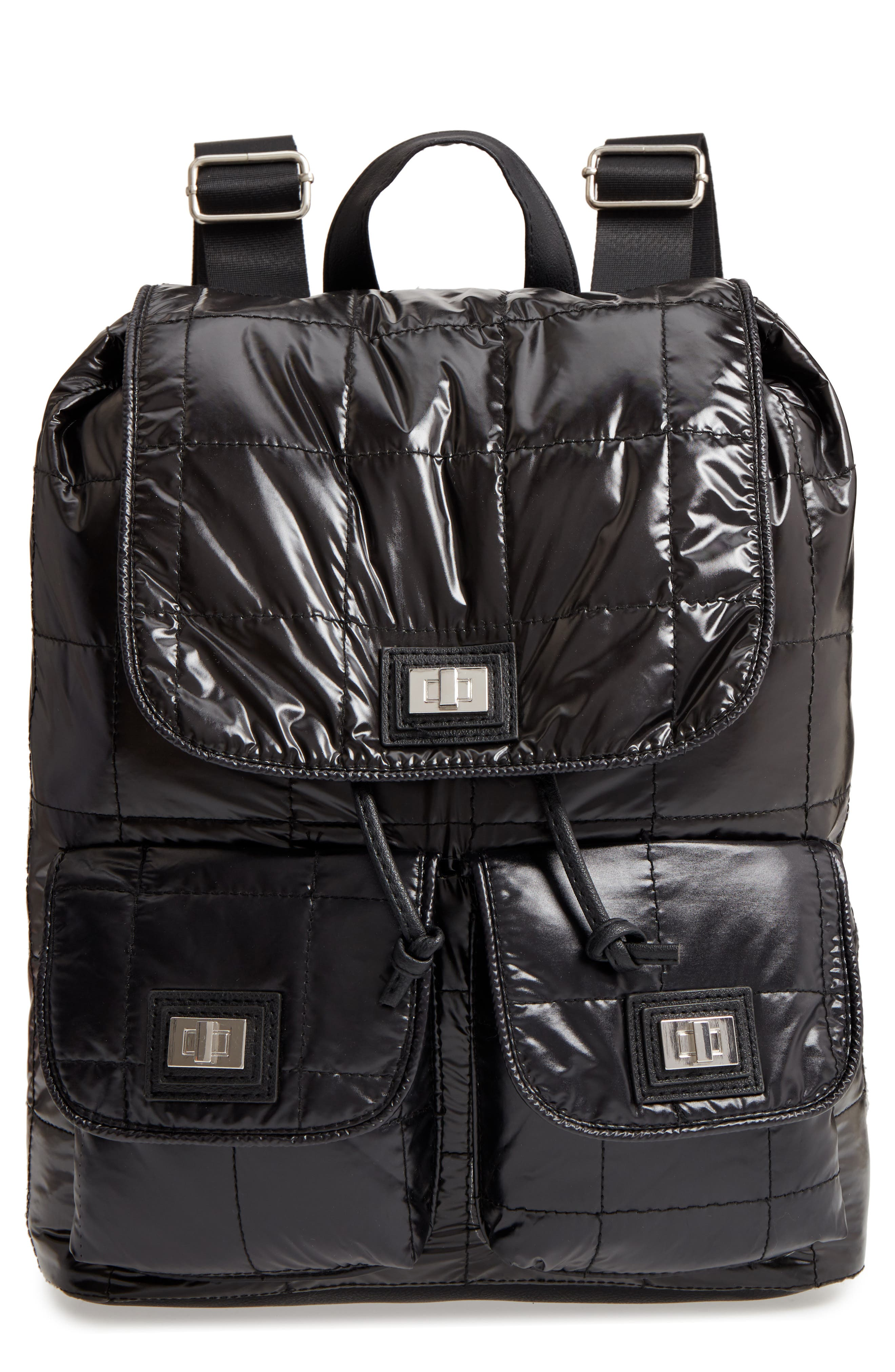Puffer Backpack,                         Main,                         color, 001