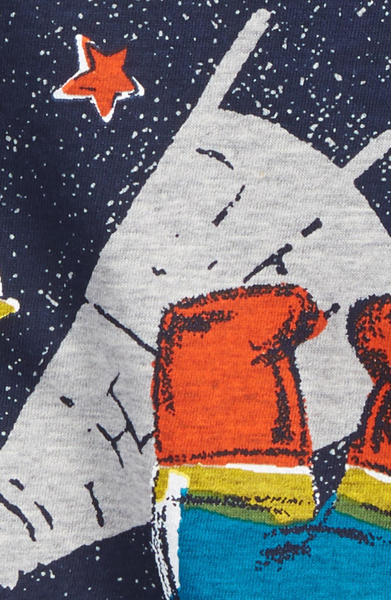 Cat Graphic T-Shirt,                             Alternate thumbnail 4, color,                             452