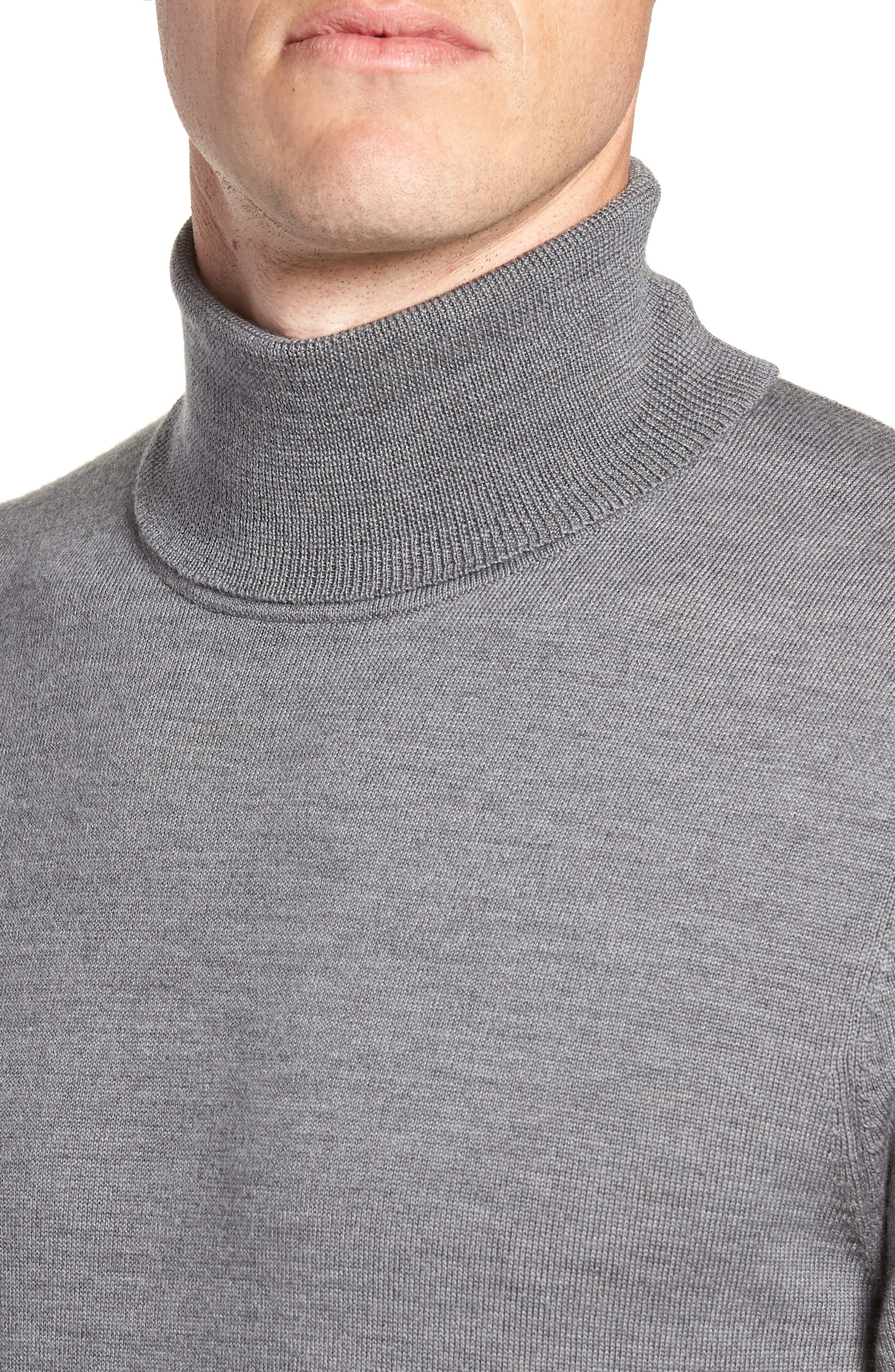 Merino Wool Turtleneck Sweater,                             Alternate thumbnail 20, color,