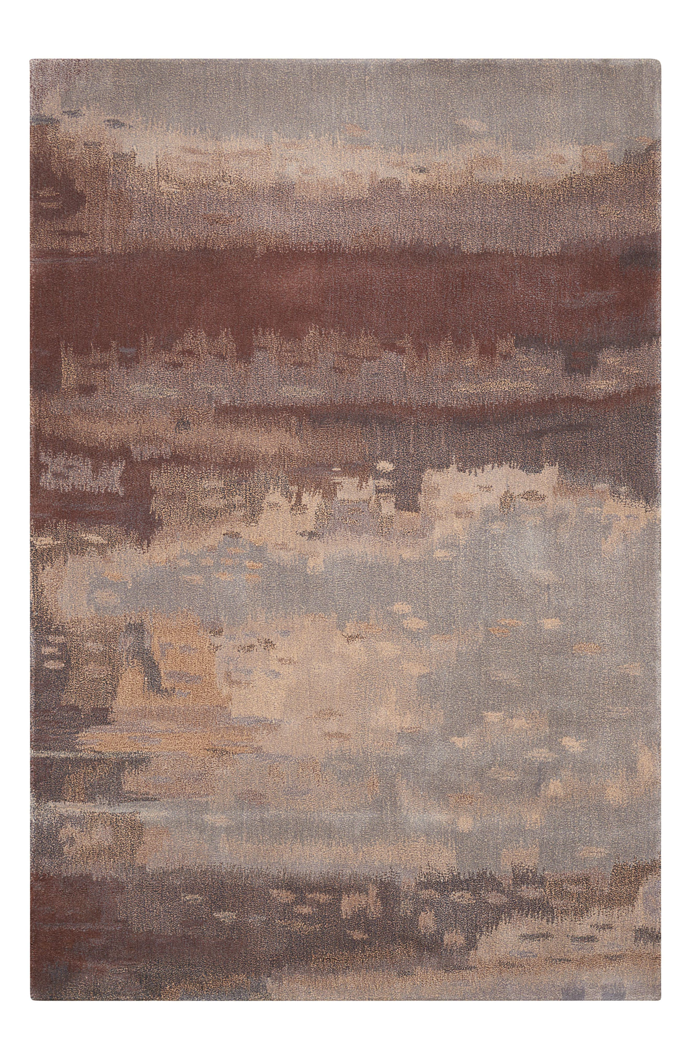 Luster Wash Wool Area Rug,                             Main thumbnail 7, color,