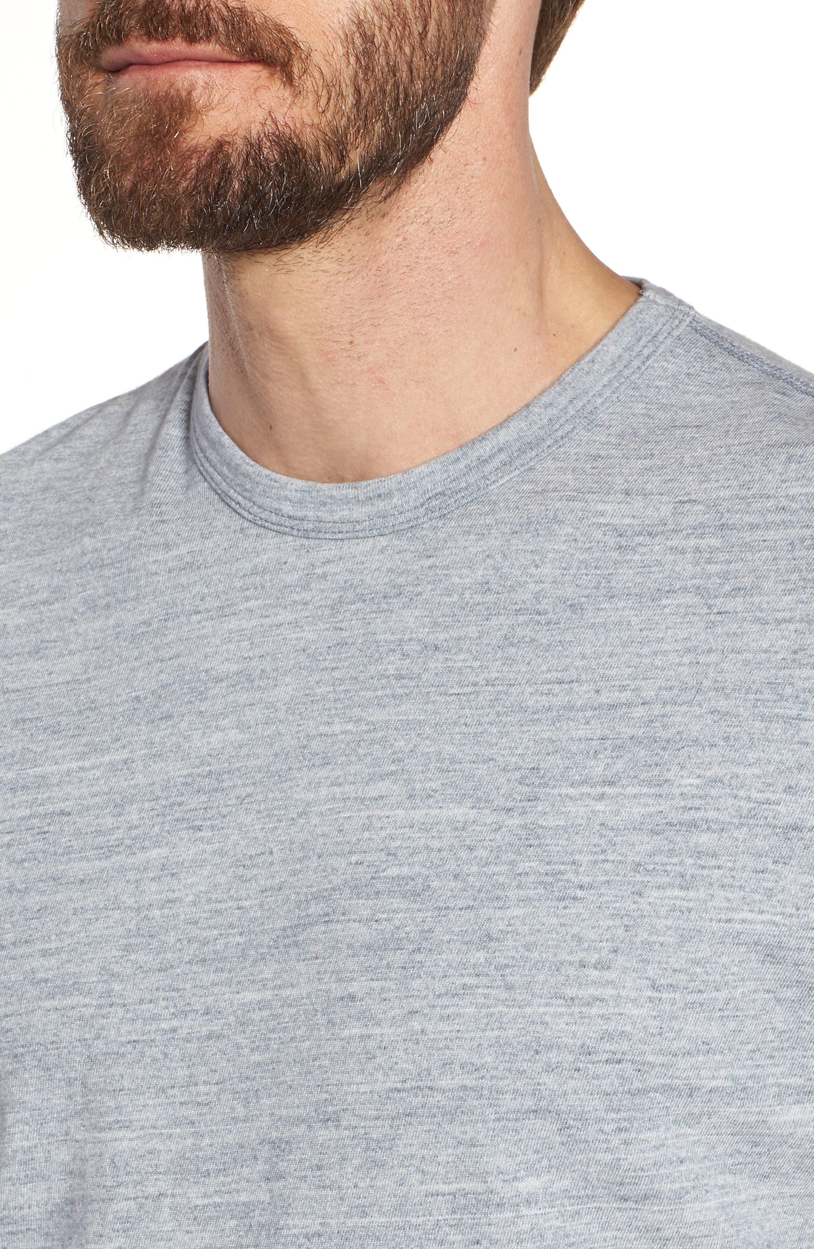 Regular Fit Top Dyed Crewneck T-Shirt,                             Alternate thumbnail 11, color,