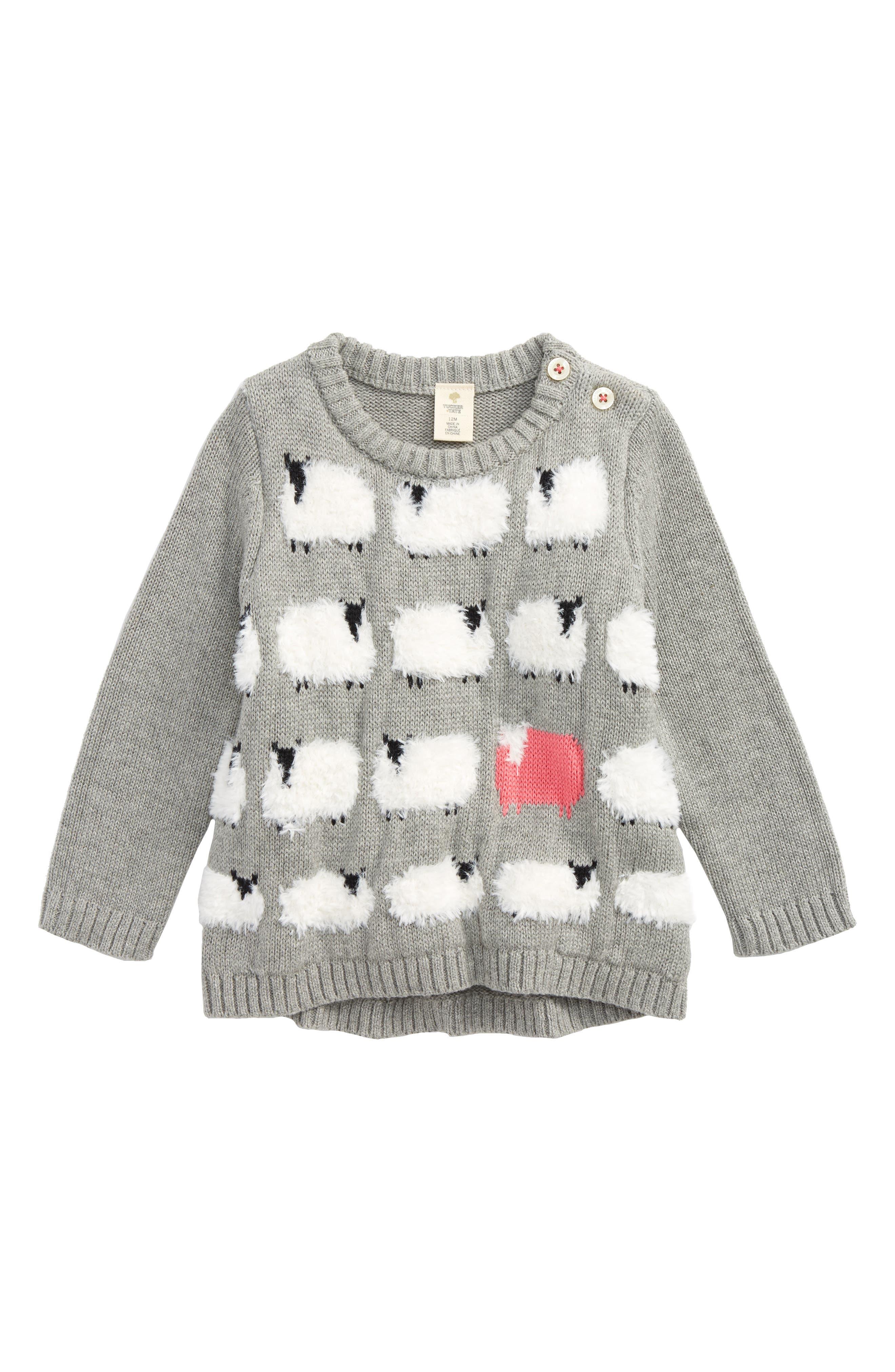 Intarsia Knit Sweater,                             Main thumbnail 1, color,                             030