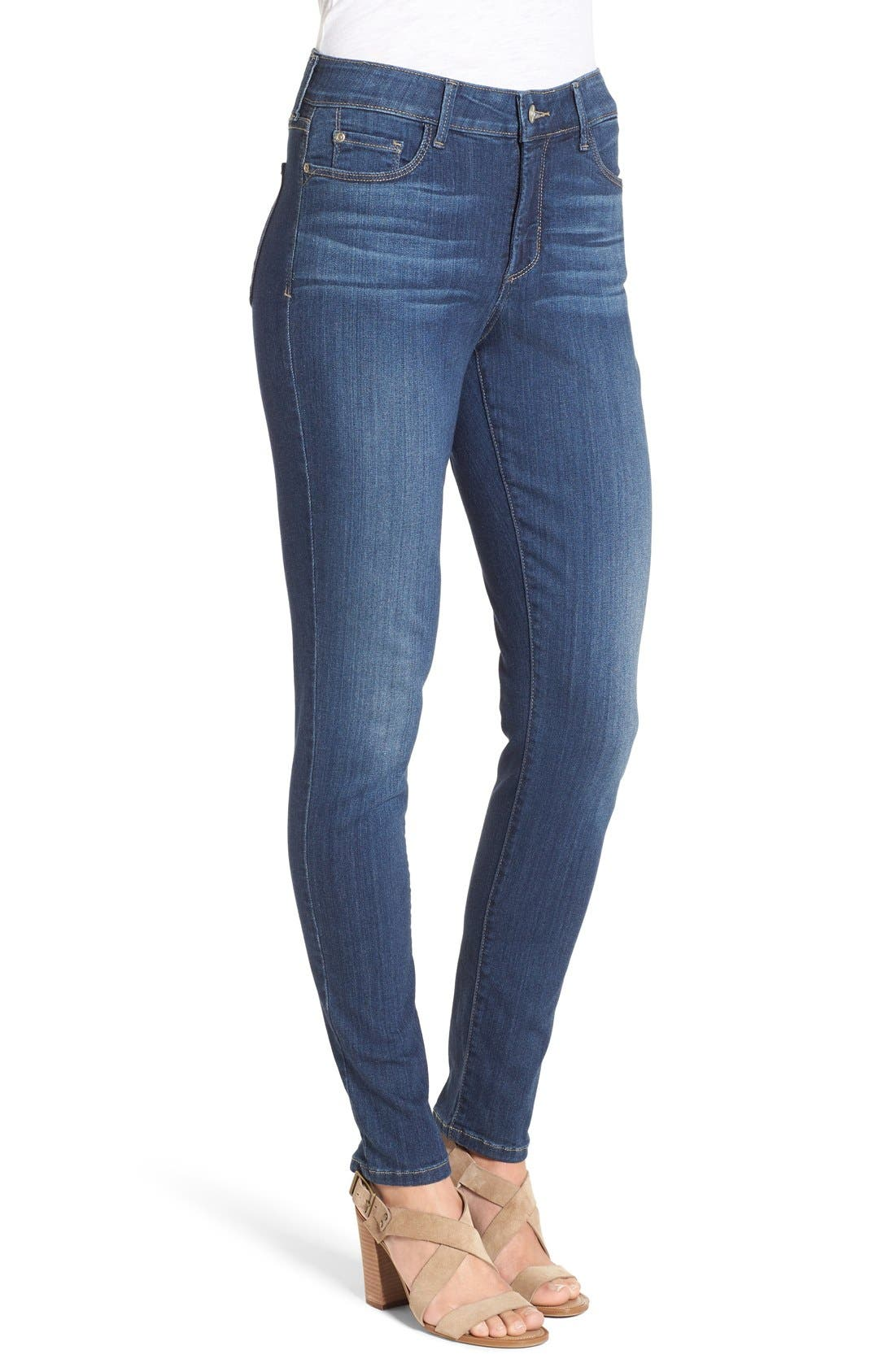 'Ami' Stretch Skinny Jeans,                             Alternate thumbnail 4, color,                             428