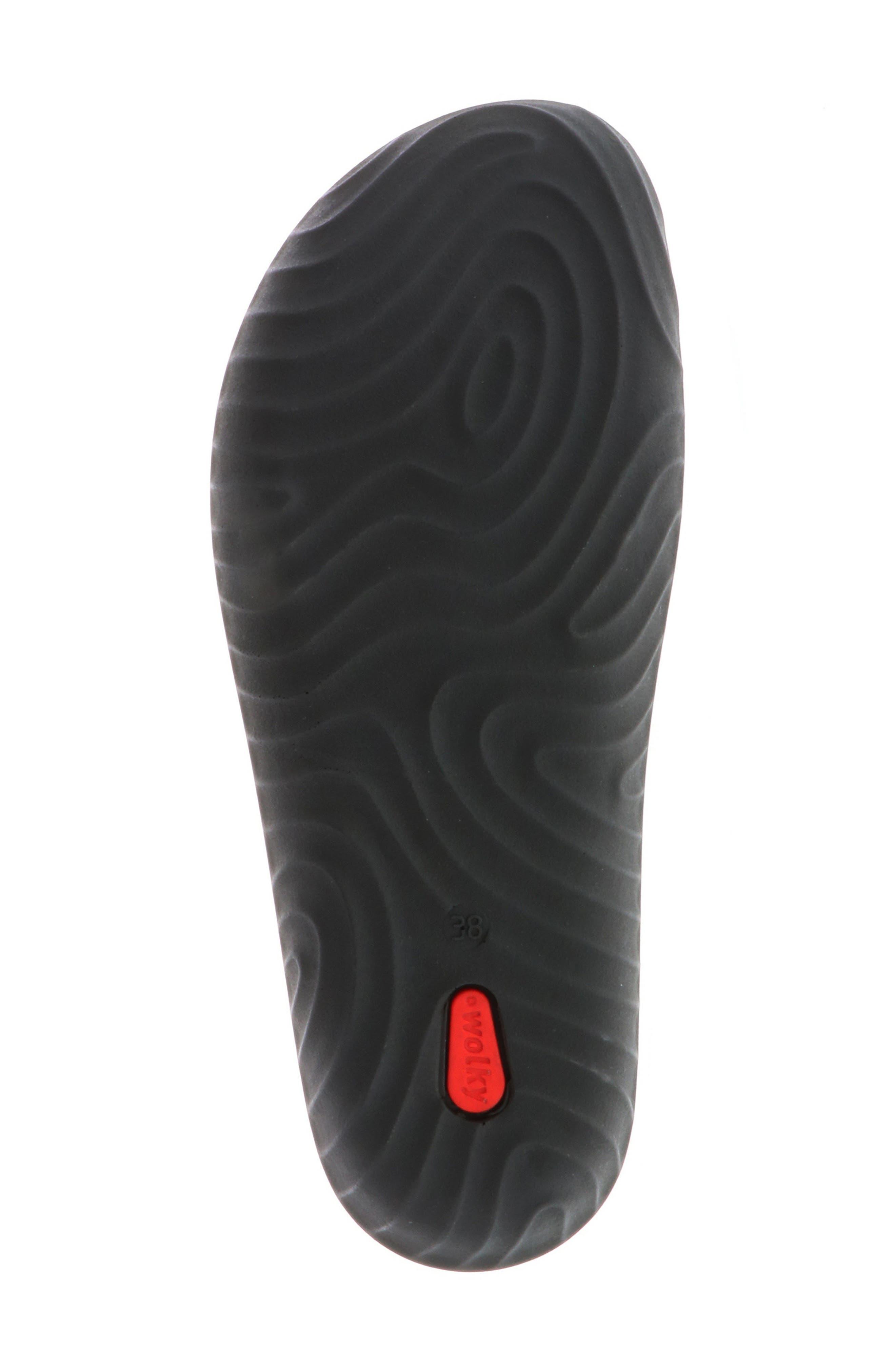 Sense Slide Sandal,                             Alternate thumbnail 6, color,                             BLACK