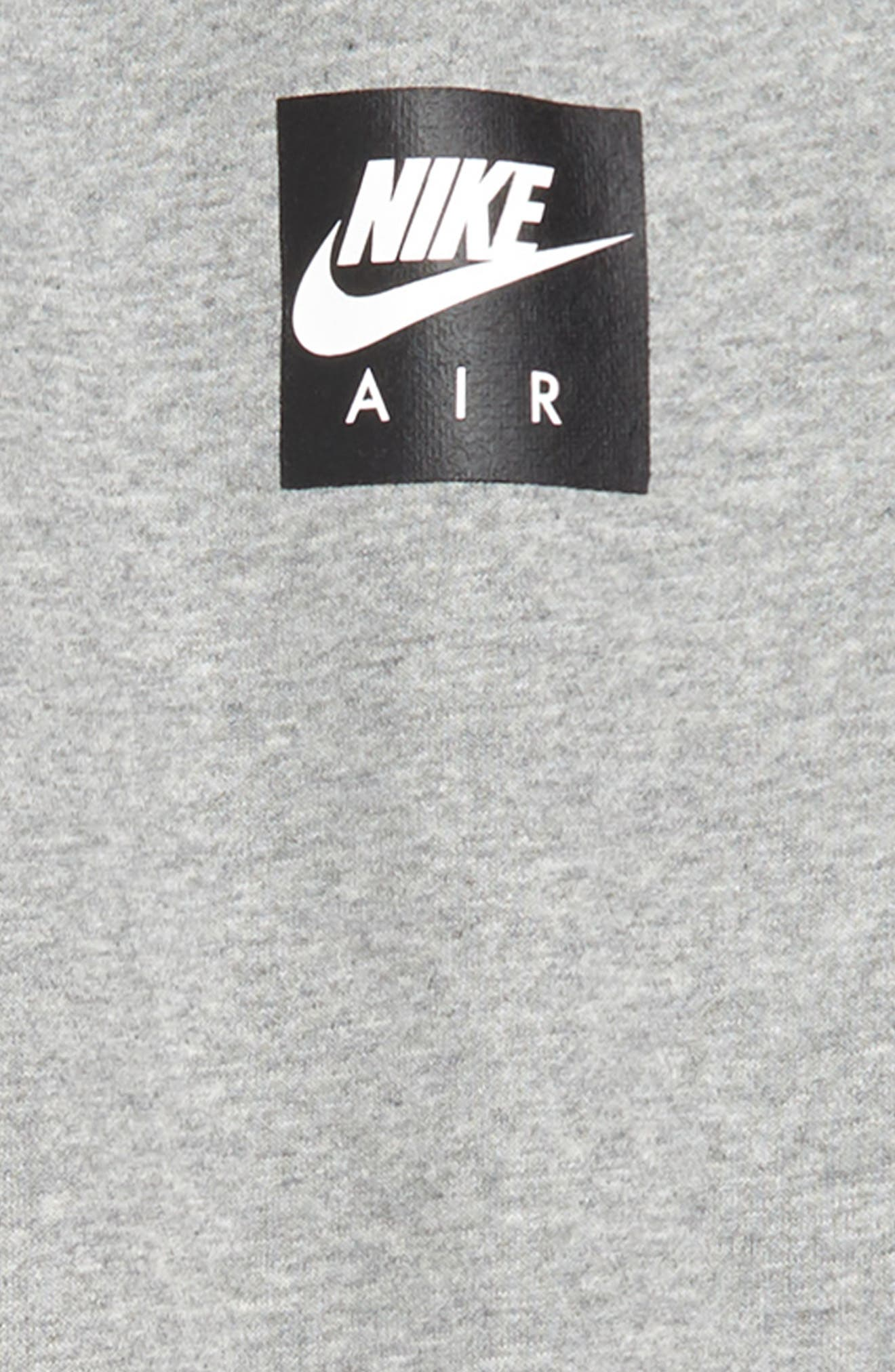 Air Fleece Jogger Pants,                             Alternate thumbnail 2, color,                             DARK GREY HEATHER