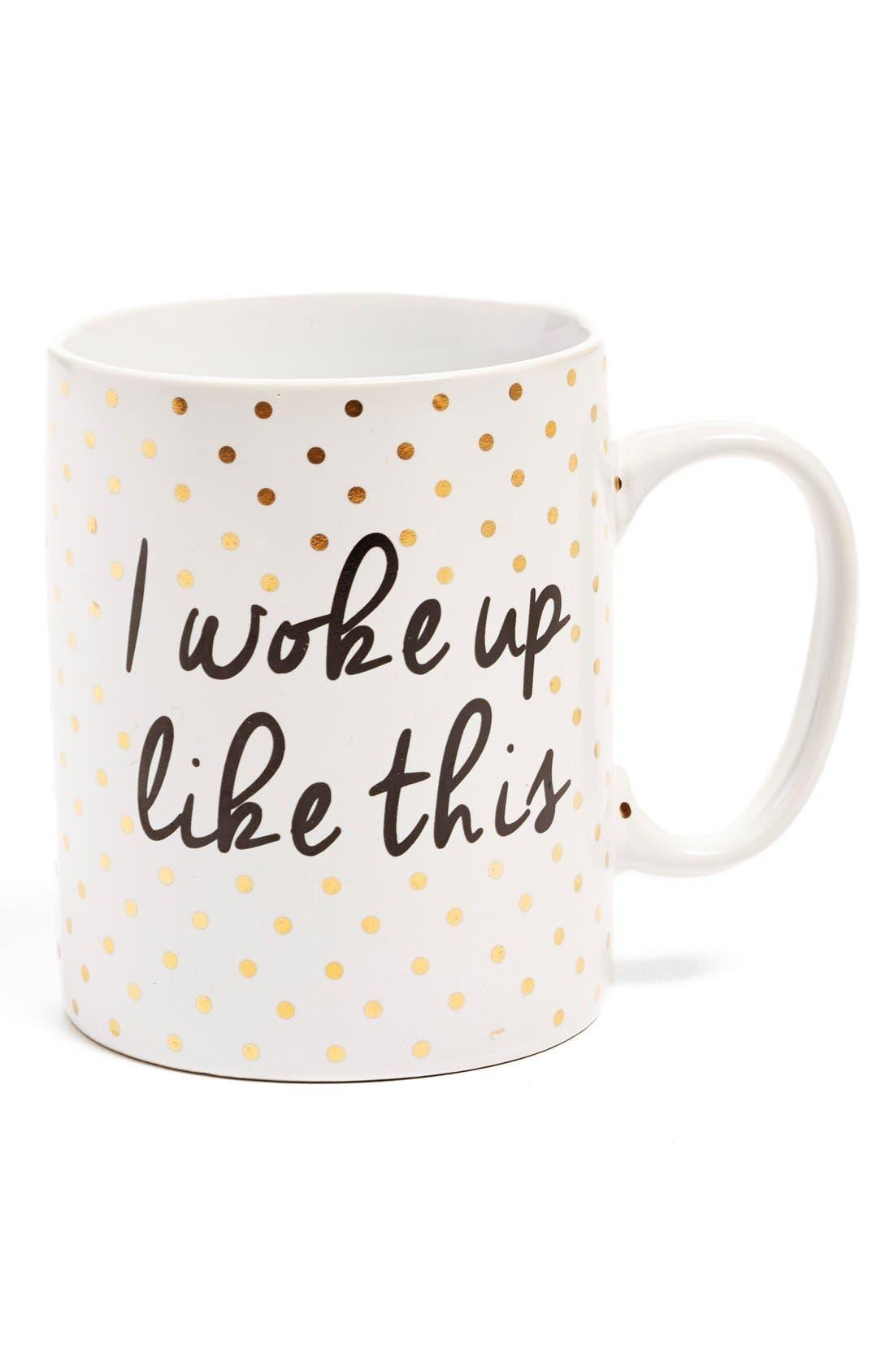 'I Woke Up Like This' Mug, Main, color, 710