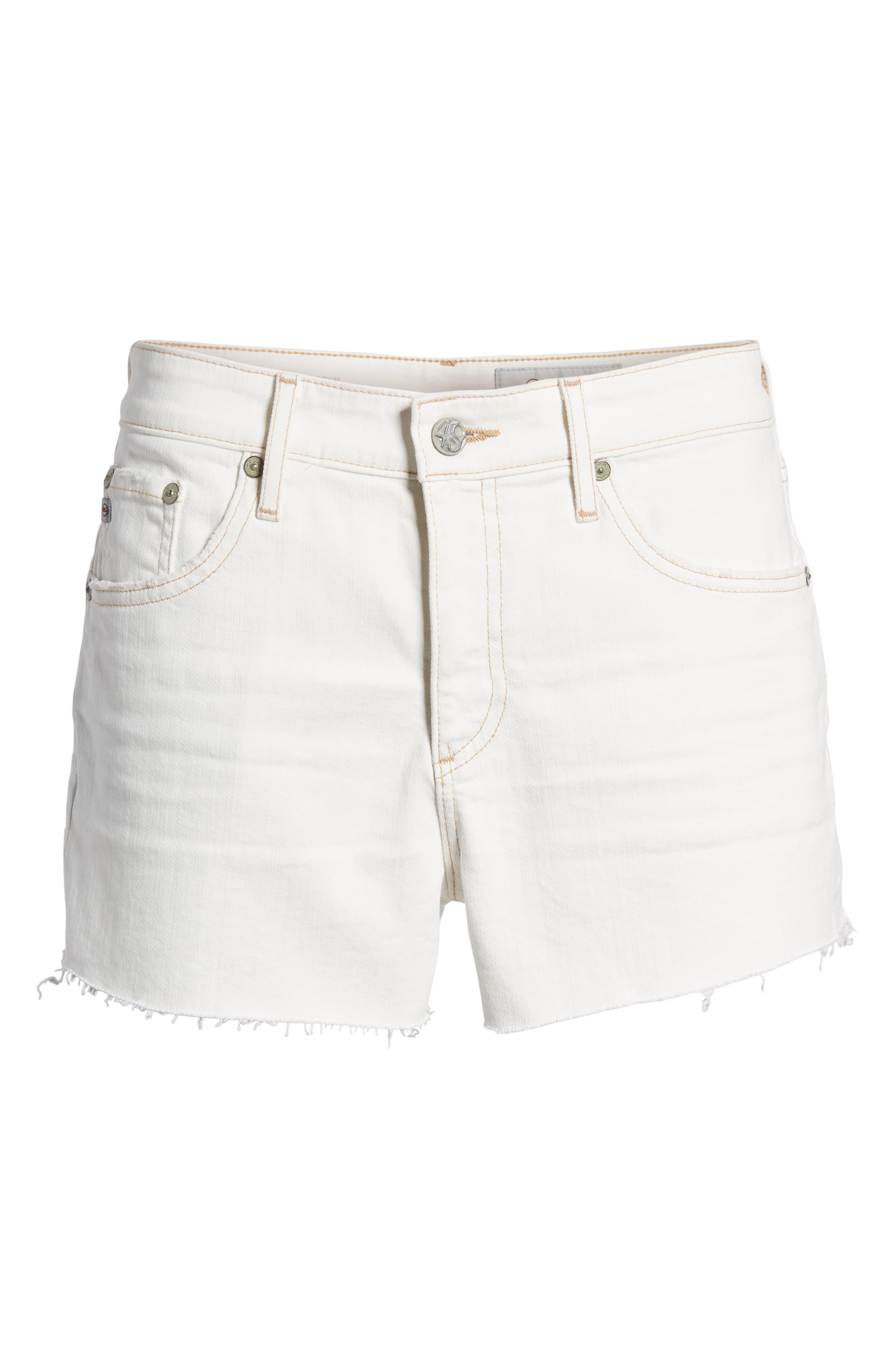 The Bryn High Waist Cutoff Denim Shorts,                             Alternate thumbnail 7, color,                             109