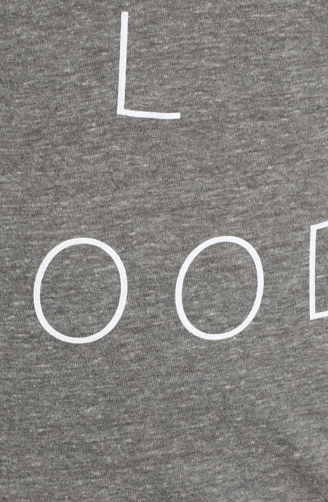 Casey It's All Good Tee,                             Alternate thumbnail 6, color,                             HEATHER