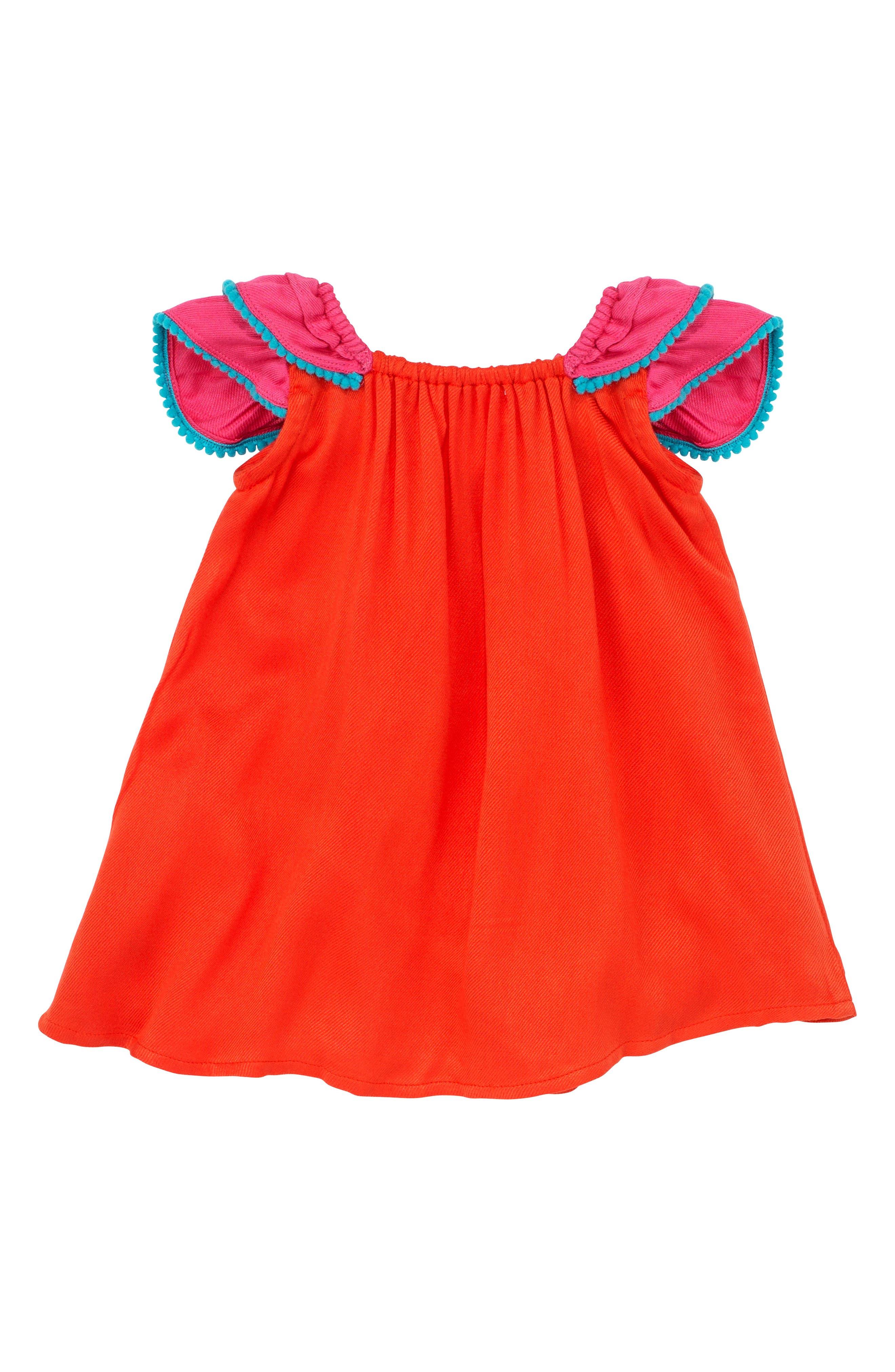 Pompom Dress,                             Alternate thumbnail 2, color,                             950