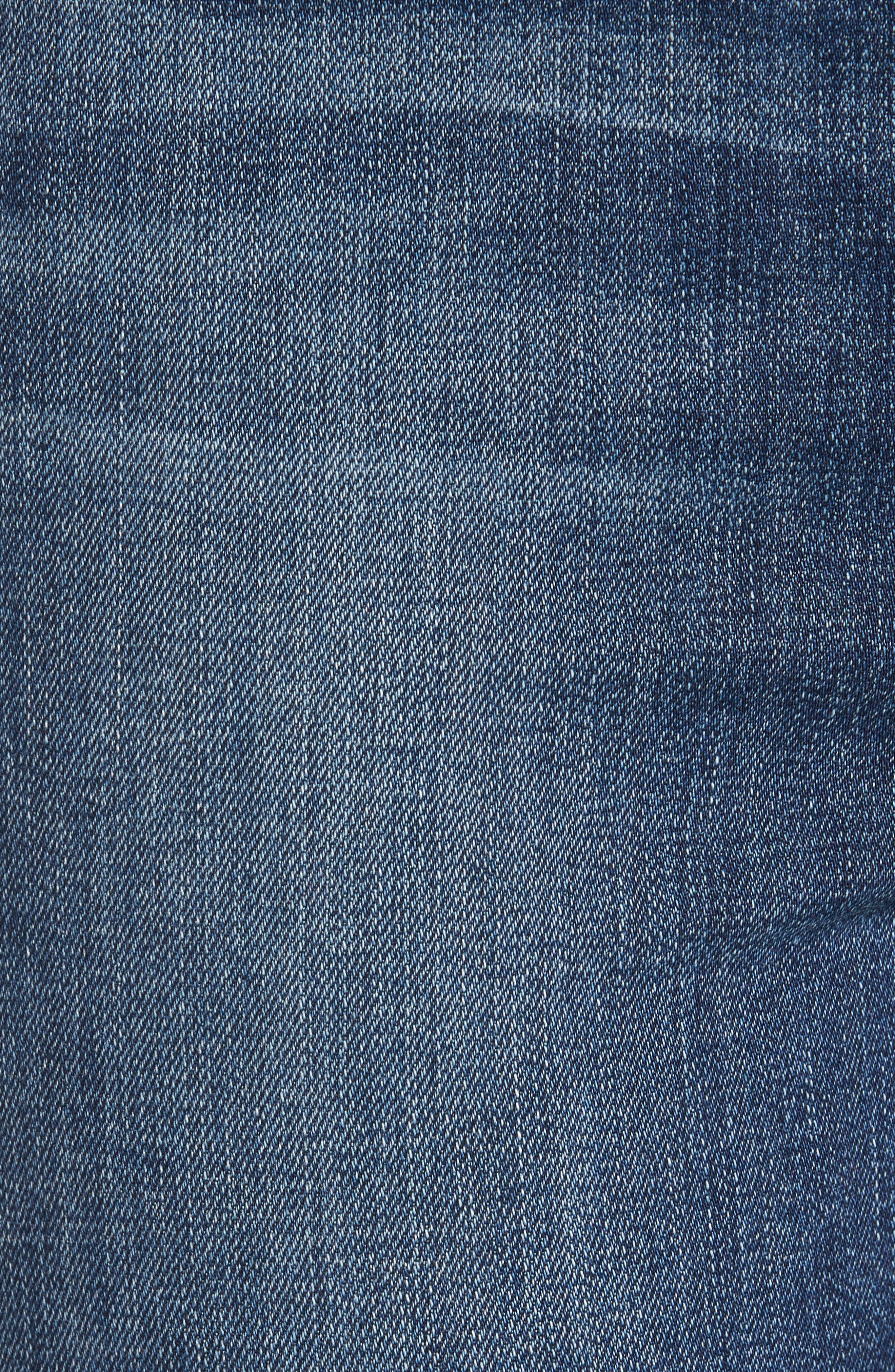 Good Waist High Rise Ankle Jeans,                             Alternate thumbnail 5, color,                             402