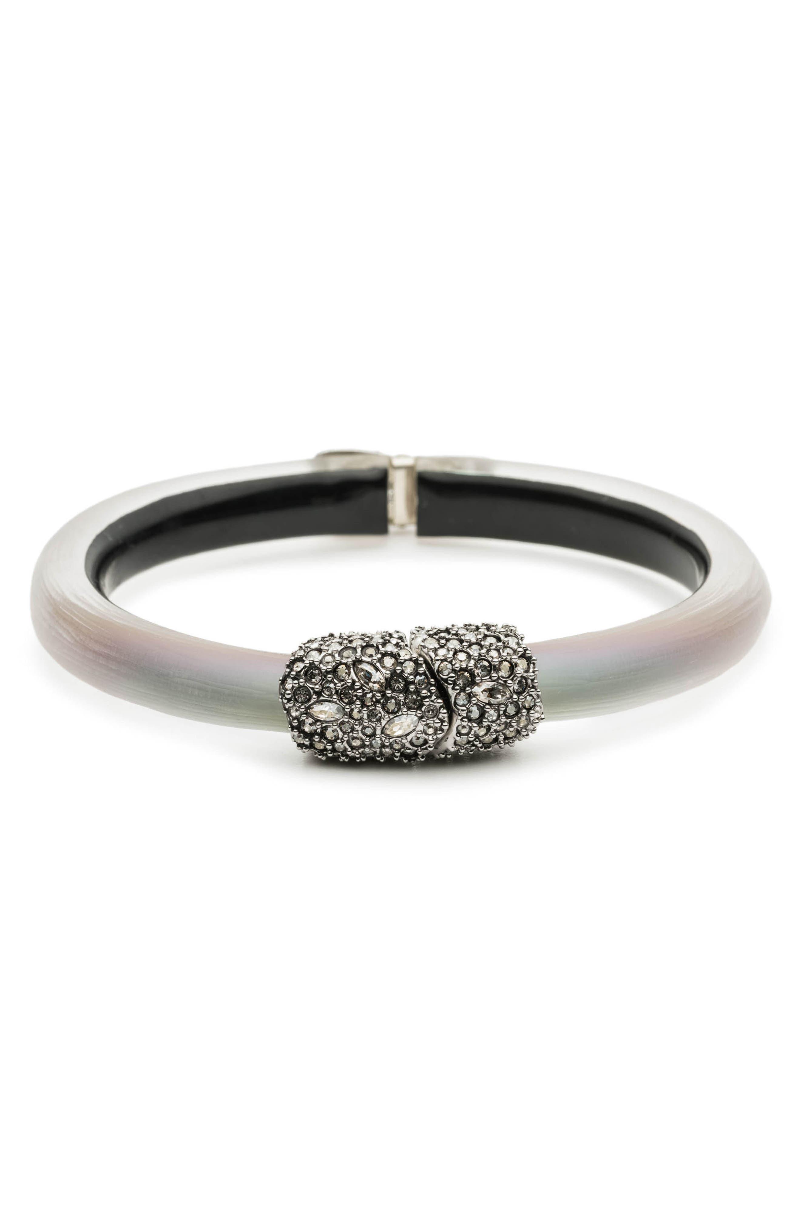 Skinny Hinge Bracelet,                             Main thumbnail 1, color,                             NEW LABRADORITE